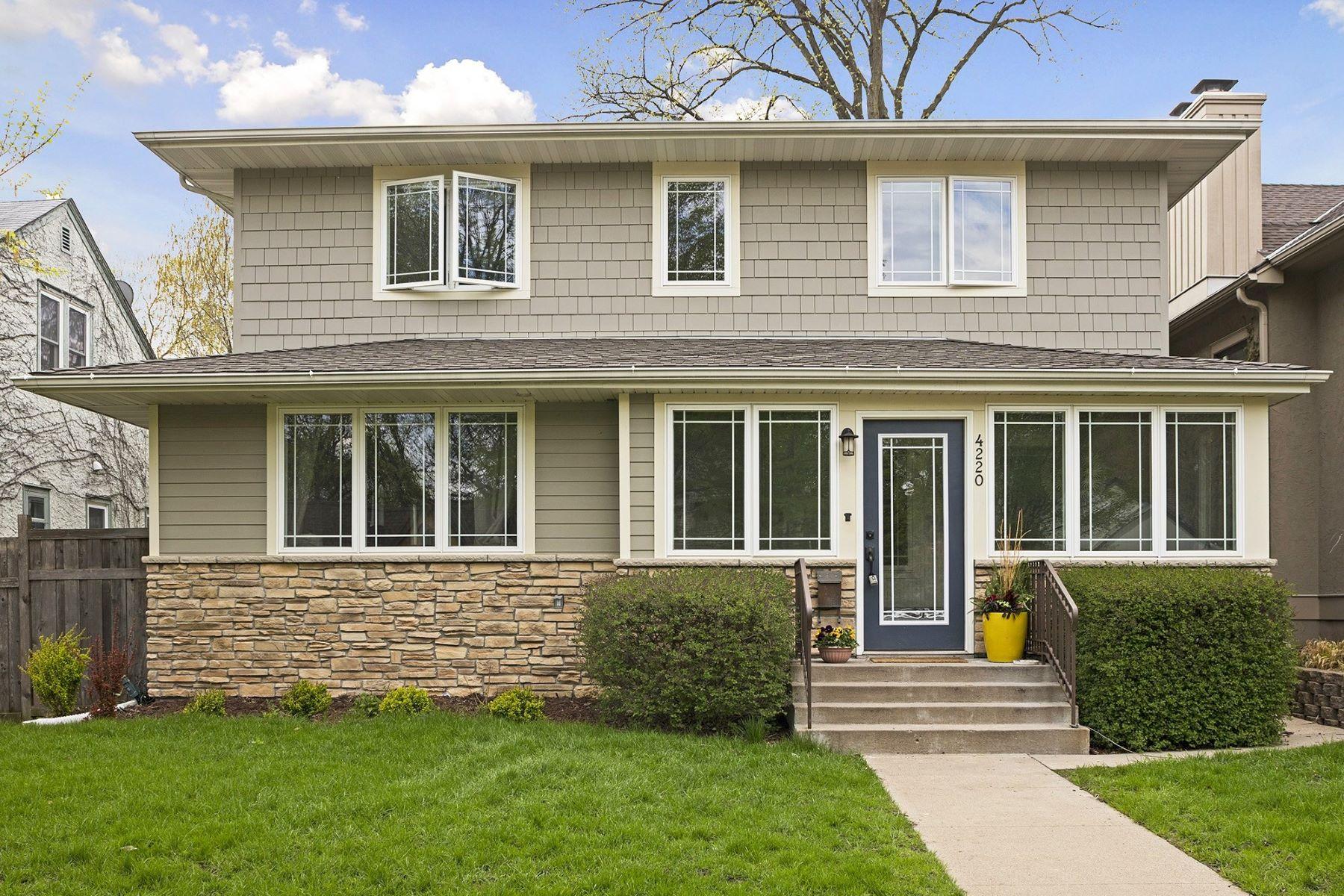独户住宅 为 销售 在 4220 Chowen Avenue South 明尼阿波利斯市, 明尼苏达州, 55410 美国