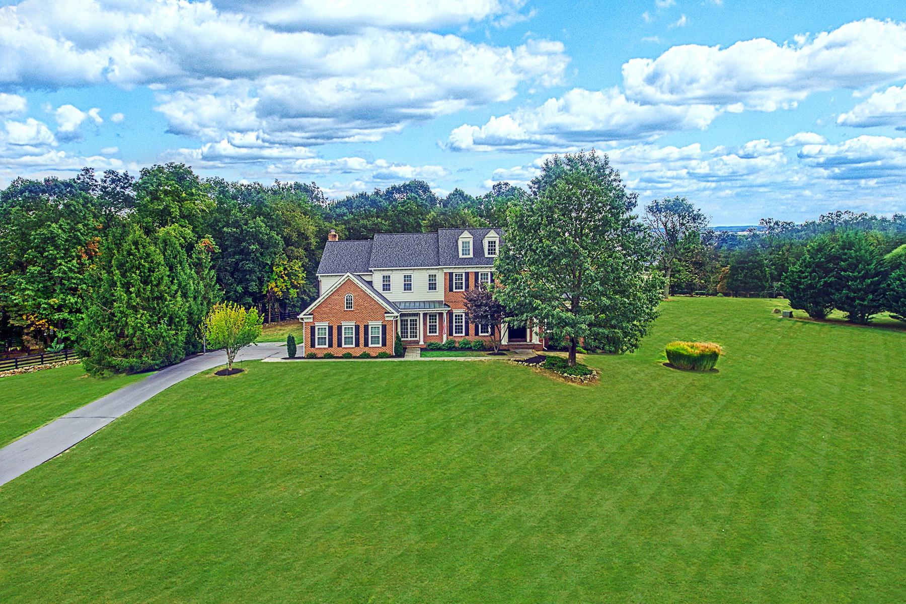 Single Family Homes por un Venta en Custom Colonial in Beacon Hill 40389 Beacon Hill Drive Leesburg, Virginia 20176 Estados Unidos