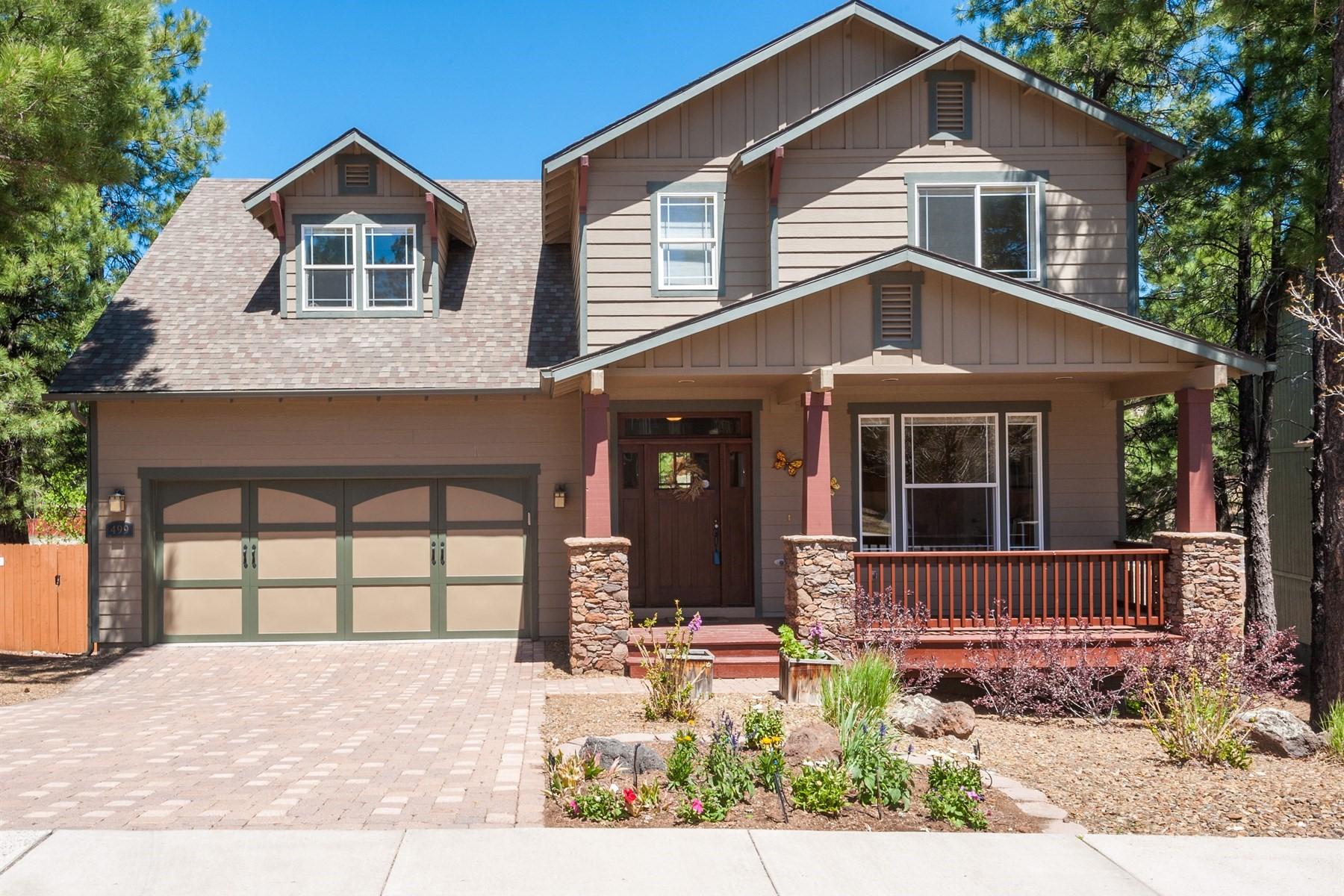 Villa per Vendita alle ore Craftsman inspired home in Ponderosa Trails 499 W Wulfenite Rd Flagstaff, Arizona, 86005 Stati Uniti