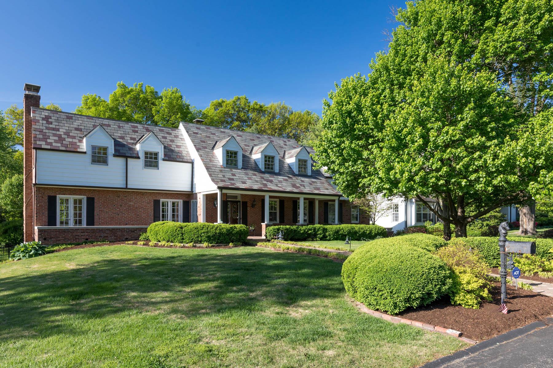Casa Unifamiliar por un Venta en Layton Terrace 9 Layton Terrace St. Louis, Missouri, 63124 Estados Unidos