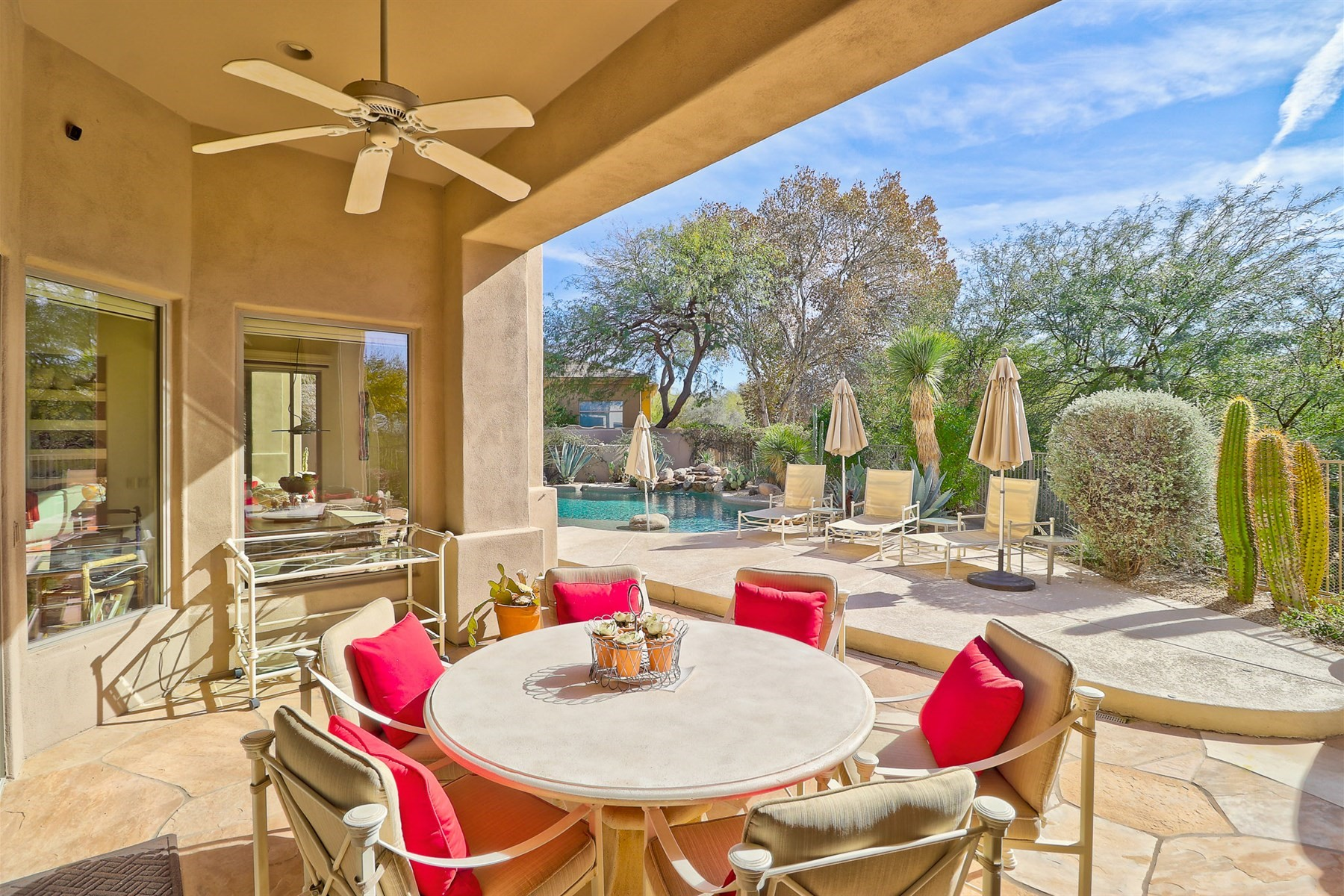 Single Family Home for Sale at Beautiful and Meticulous Residence in Troon North 9687 E Peak View Rd, Scottsdale, Arizona, 85262 United States