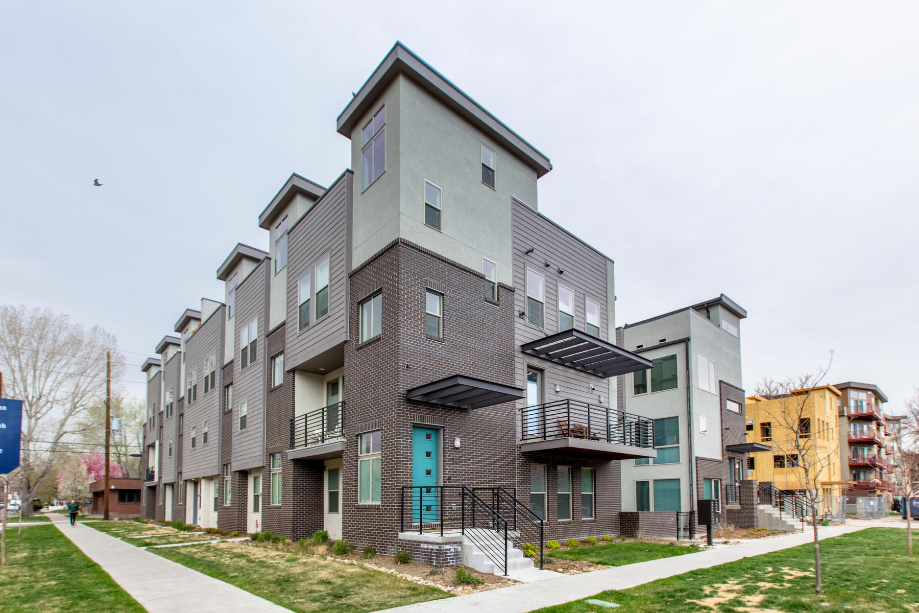 Single Family Home for Active at Gaylord Station 1821 Gaylord St Denver, Colorado 80206 United States
