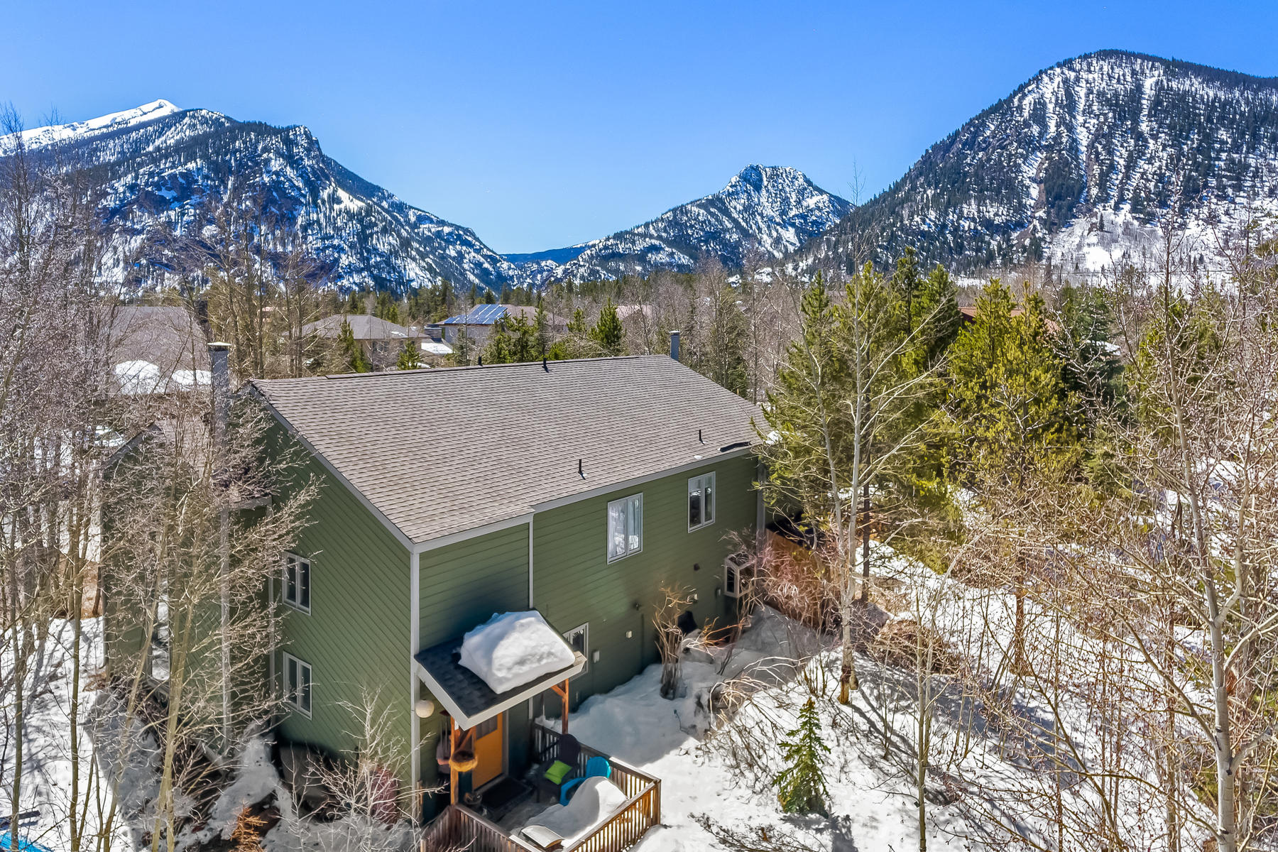 Duplex Homes for Sale at Meadow Creek Neighborhood Home 37 Hawn Drive Frisco, Colorado 80443 United States