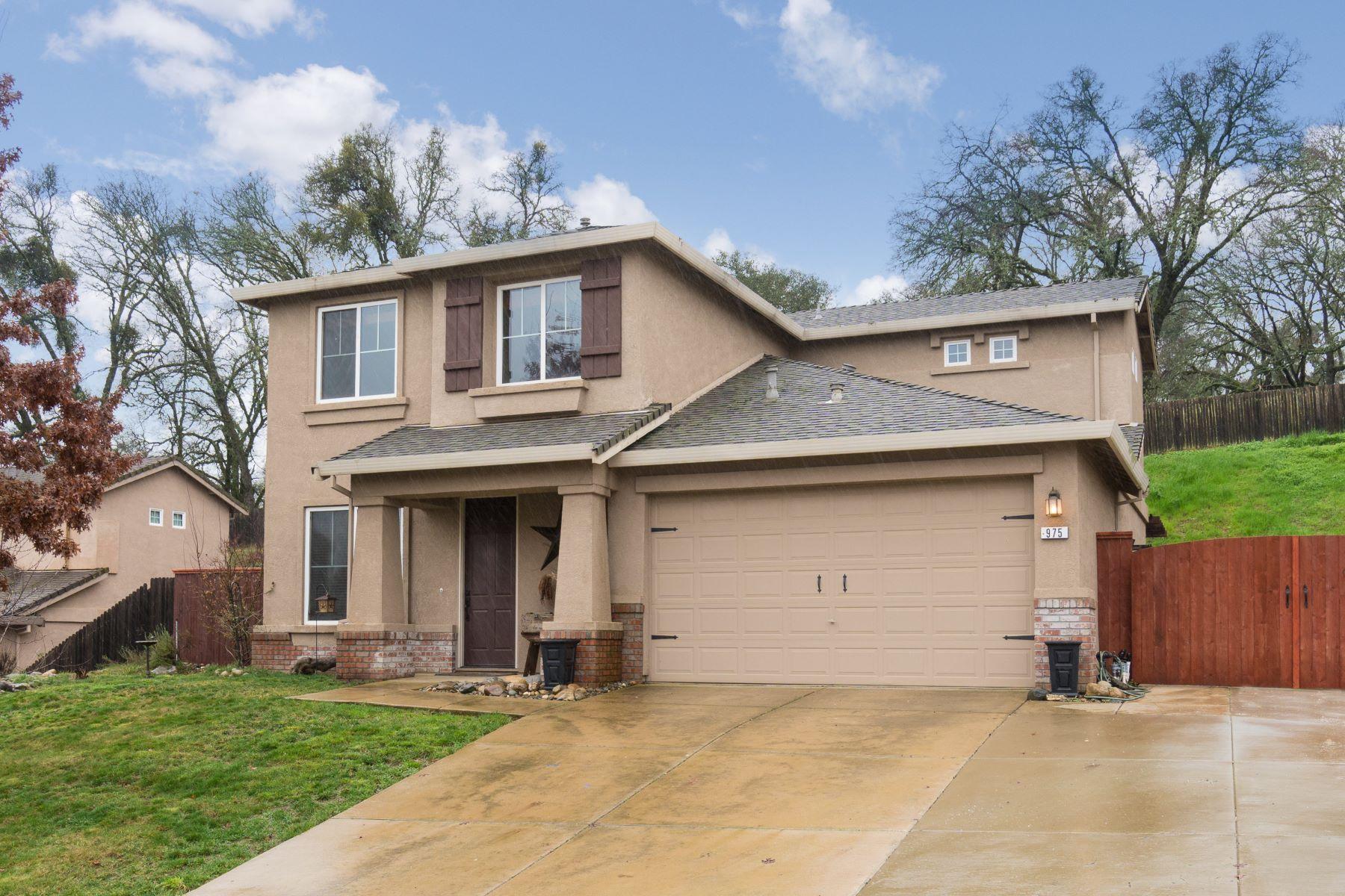 Single Family Home for Sale at 975 Ponderosa Street Jackson, California 95642 United States