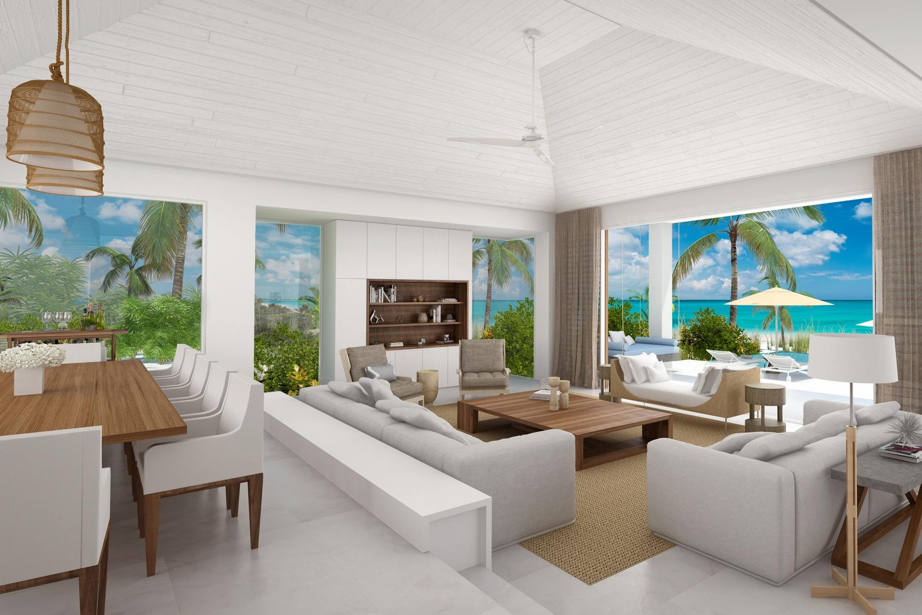 Additional photo for property listing at BEACH ENCLAVE GRACE BAY Design A Oceanview 格蕾斯湾, 普罗维登夏 TCI 特克斯和凯科斯群岛