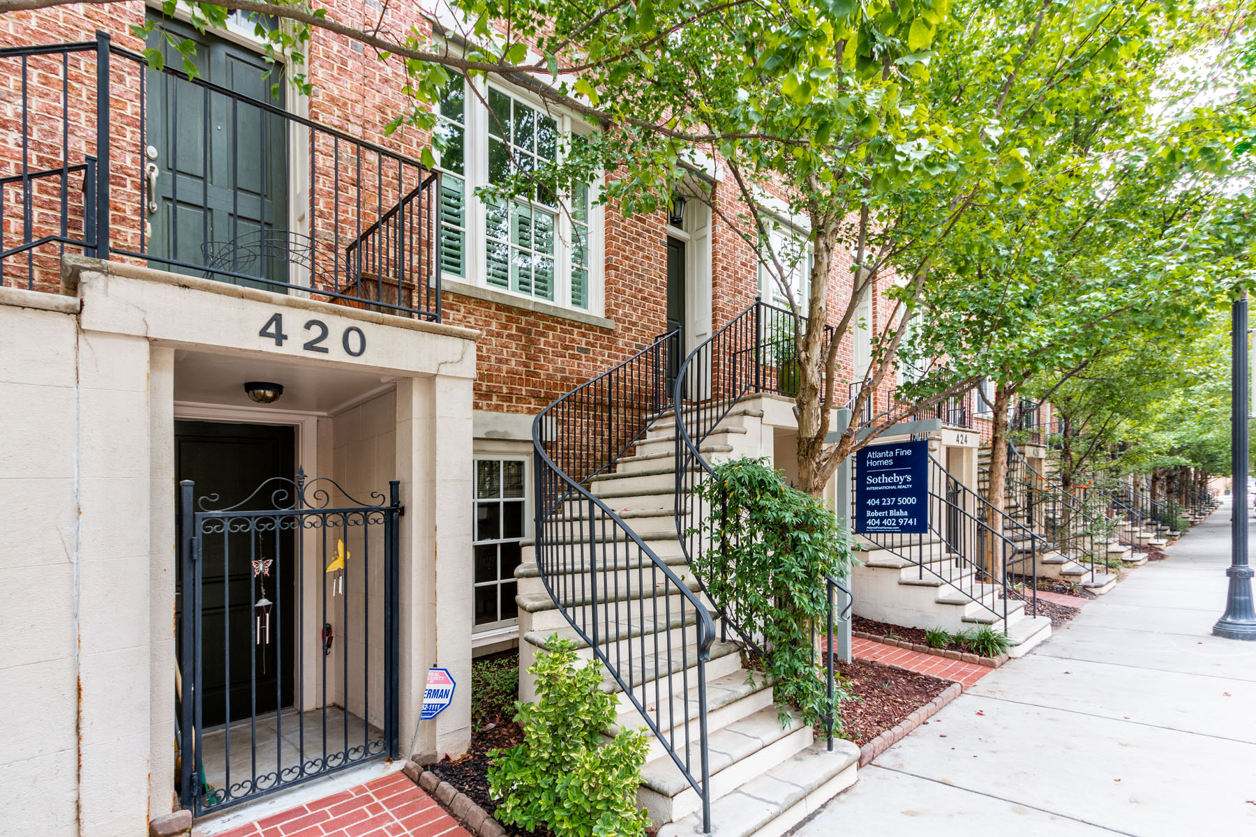 Townhouse for Sale at Fabulous Town Home with Roof Top Deck in Sought After Glenwood Park 422 Bill Kennedy Way SE Atlanta, Georgia 30316 United States