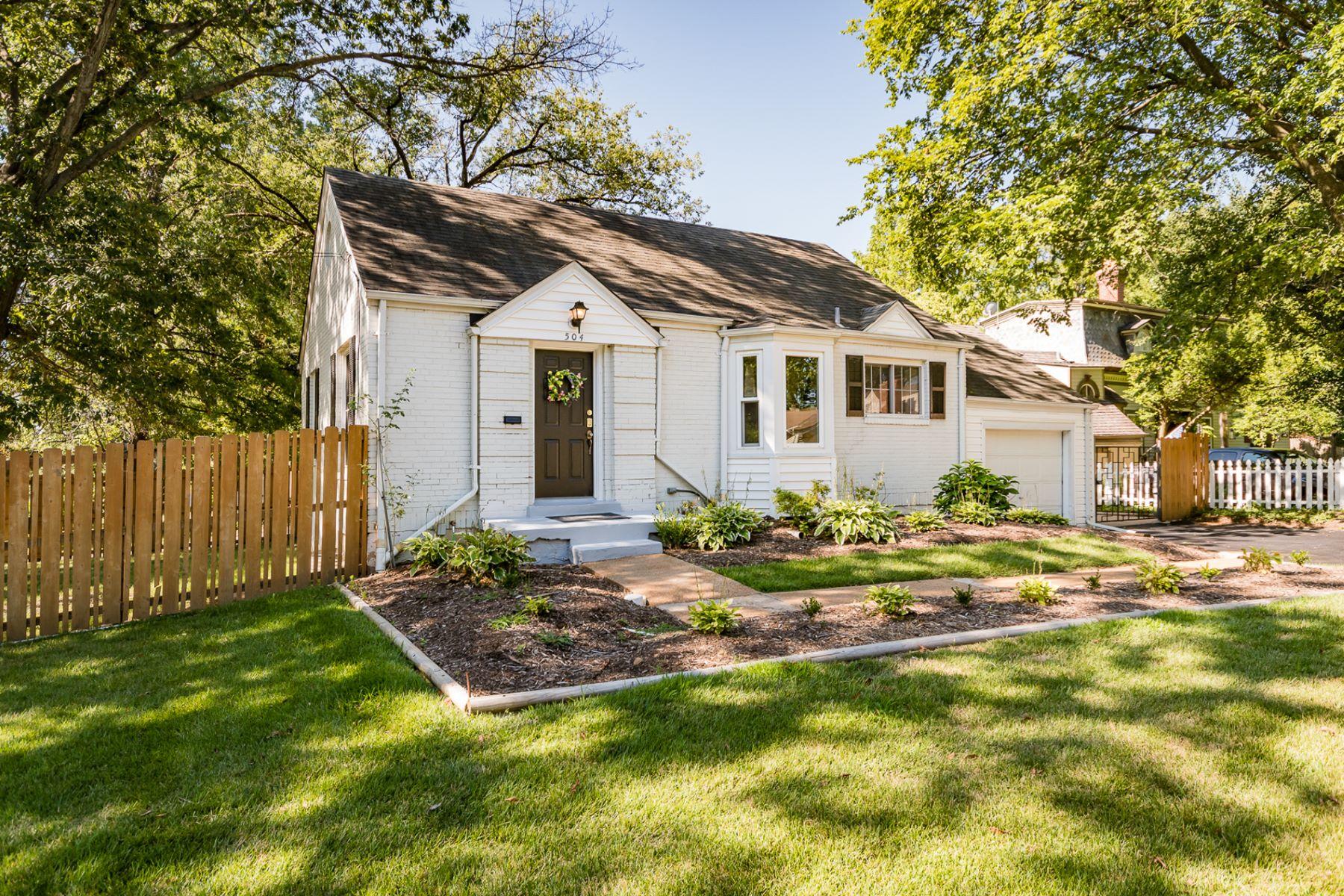 Частный односемейный дом для того Продажа на Mclain Lane 504 Mclaine Lane Kirkwood, Миссури, 63122 Соединенные Штаты