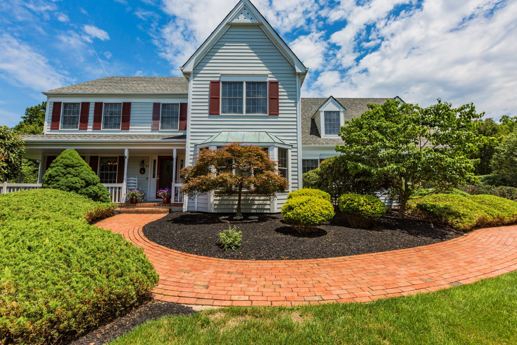 Single Family Home for Sale at Home With A Heart - Montgomery Township 87 Wilshire Drive Belle Mead, New Jersey, 08502 United States