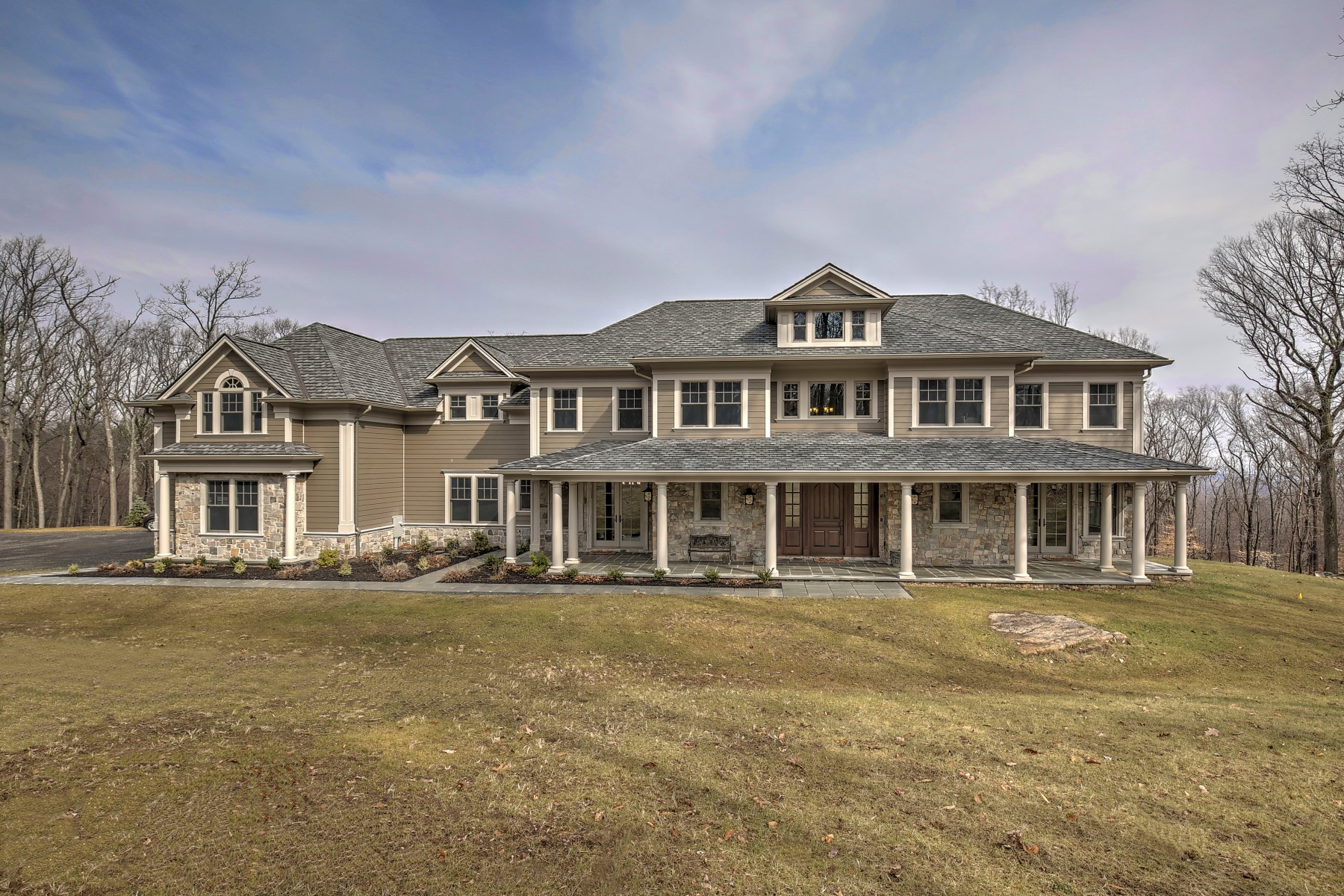 独户住宅 为 销售 在 Bernardsville Mountain New Construction 111 Boulderwood Drive 伯纳兹维尔, 07924 美国