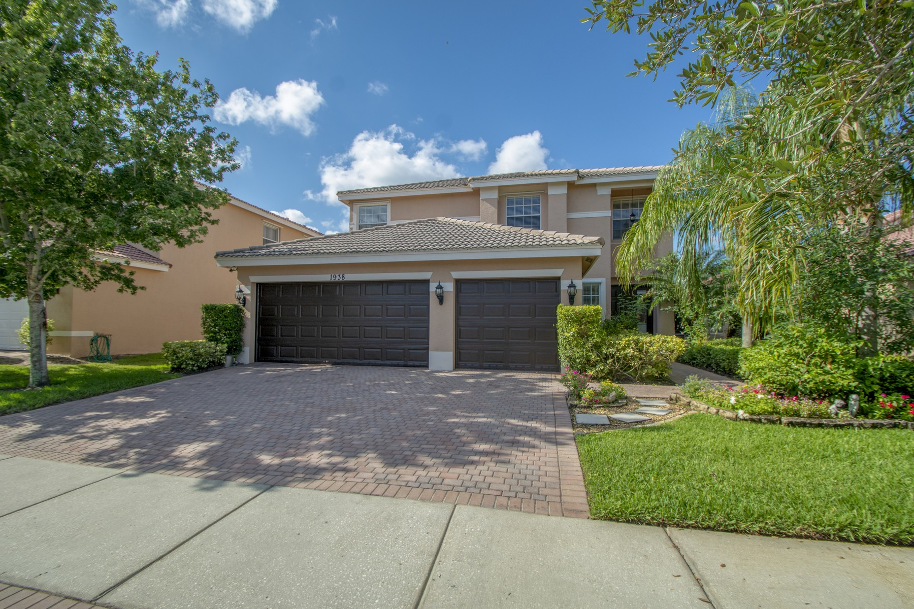 single family homes for Sale at Updated Two Story Lakefront Home 938 Grey Falcon Circle SW Vero Beach, Florida 32962 United States