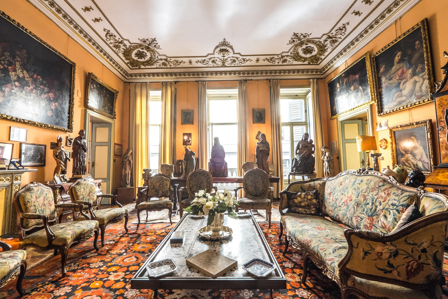 Apartment for Sale at Gorgeous apartment in historical Palazzo Via Principe Amedeo Torino, Turin, 10123 Italy