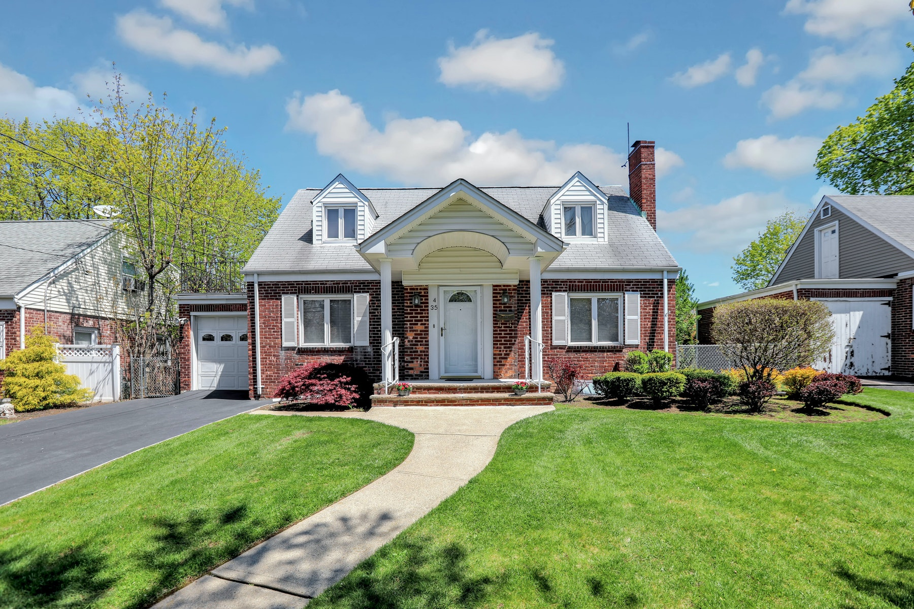 Single Family Homes for Sale at Charming and Elegant 4-35 17th Street Fair Lawn, New Jersey 07410 United States
