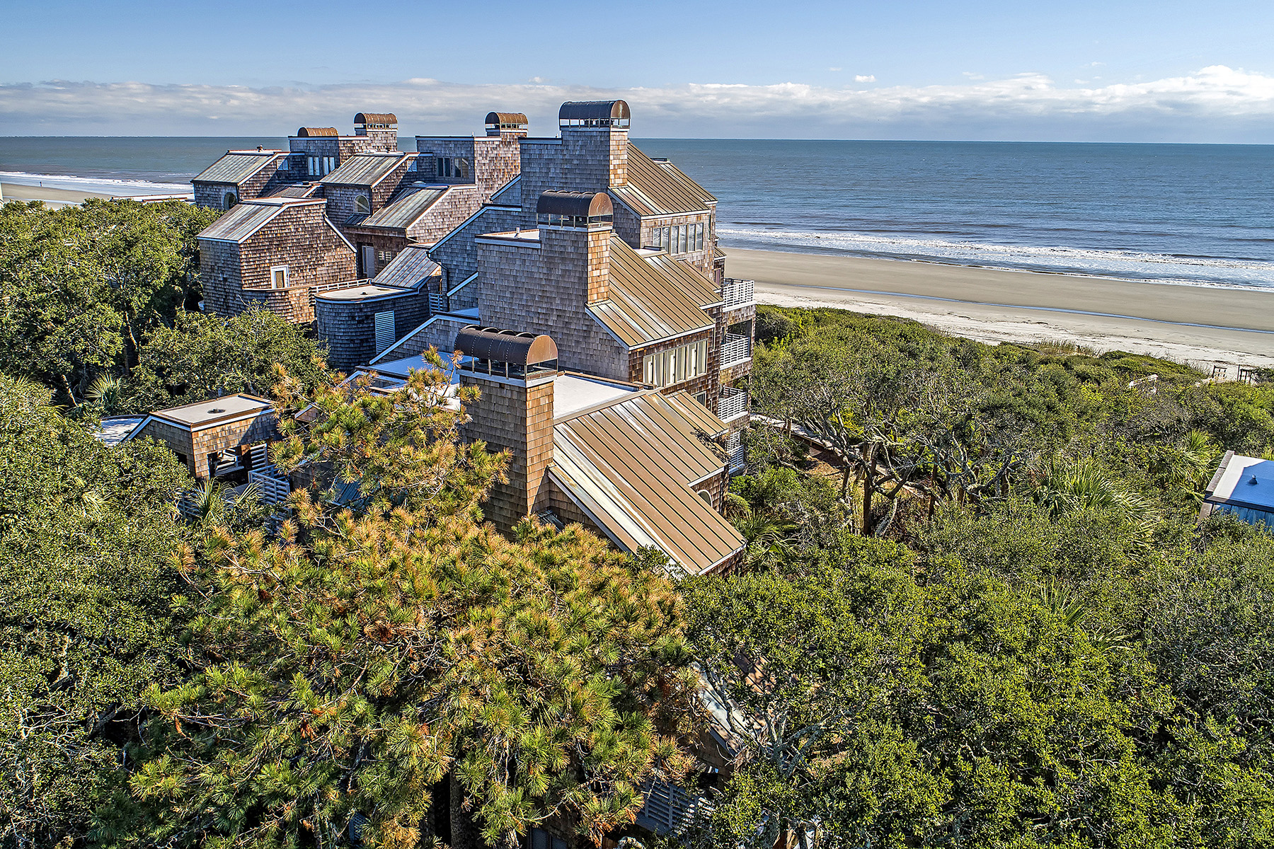 Single Family Homes for Sale at 4453 Sea Forest Drive Kiawah Island, South Carolina 29455 United States