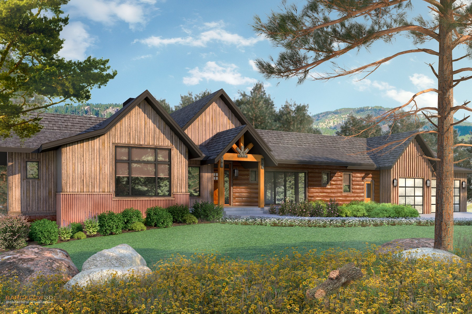 Single Family Home for Sale at Rare New Construction 6383 Little Cub Creek Road Evergreen, Colorado, 80439 United States