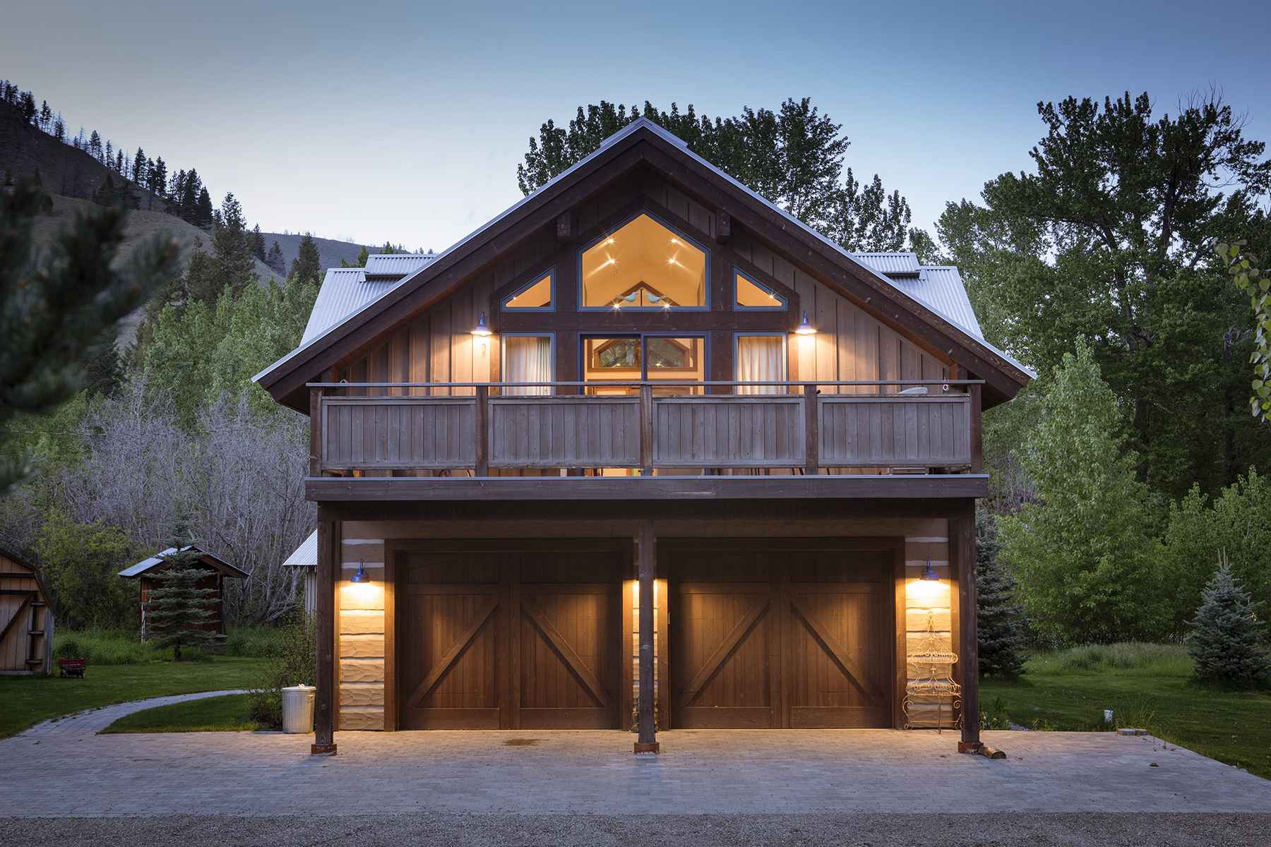 Additional photo for property listing at Riverfront Escape 106 Whipsaw Lane Ketchum, Idaho 83340 Estados Unidos