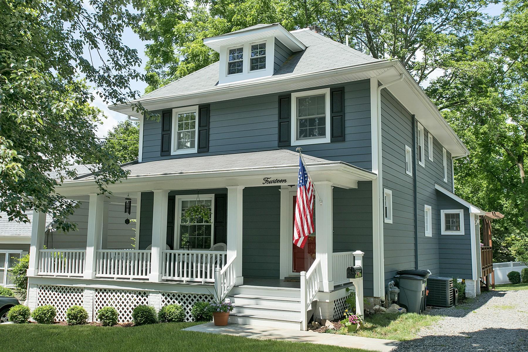 Maison unifamiliale pour l Vente à Charming Colonial 14 Old Army Road Bernardsville, New Jersey, 07924 États-Unis