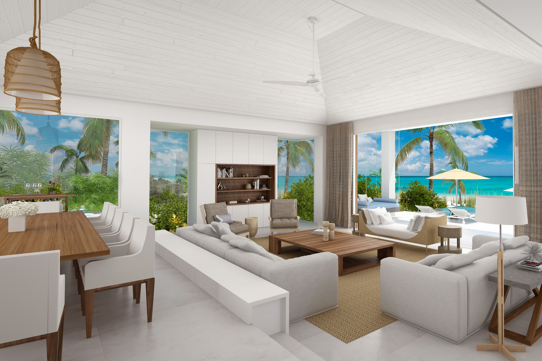 Additional photo for property listing at BEACH ENCLAVE GRACE BAY Design A Beachfront 格蕾斯湾, 普罗维登夏 TKCA 1ZZ 特克斯和凯科斯群岛