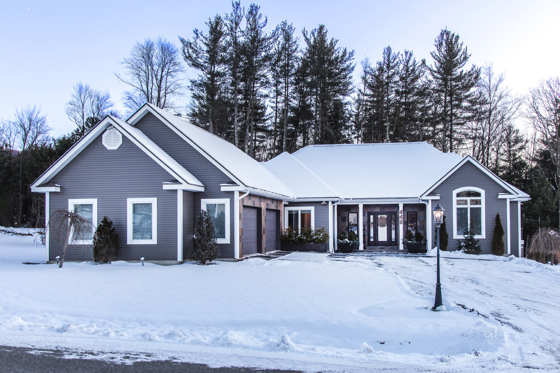 Condominiums for Sale at Stylish Stand Alone Townhome-Desirable Adult Commu 446 Carmel Place Rutland Town, Vermont 05701 United States