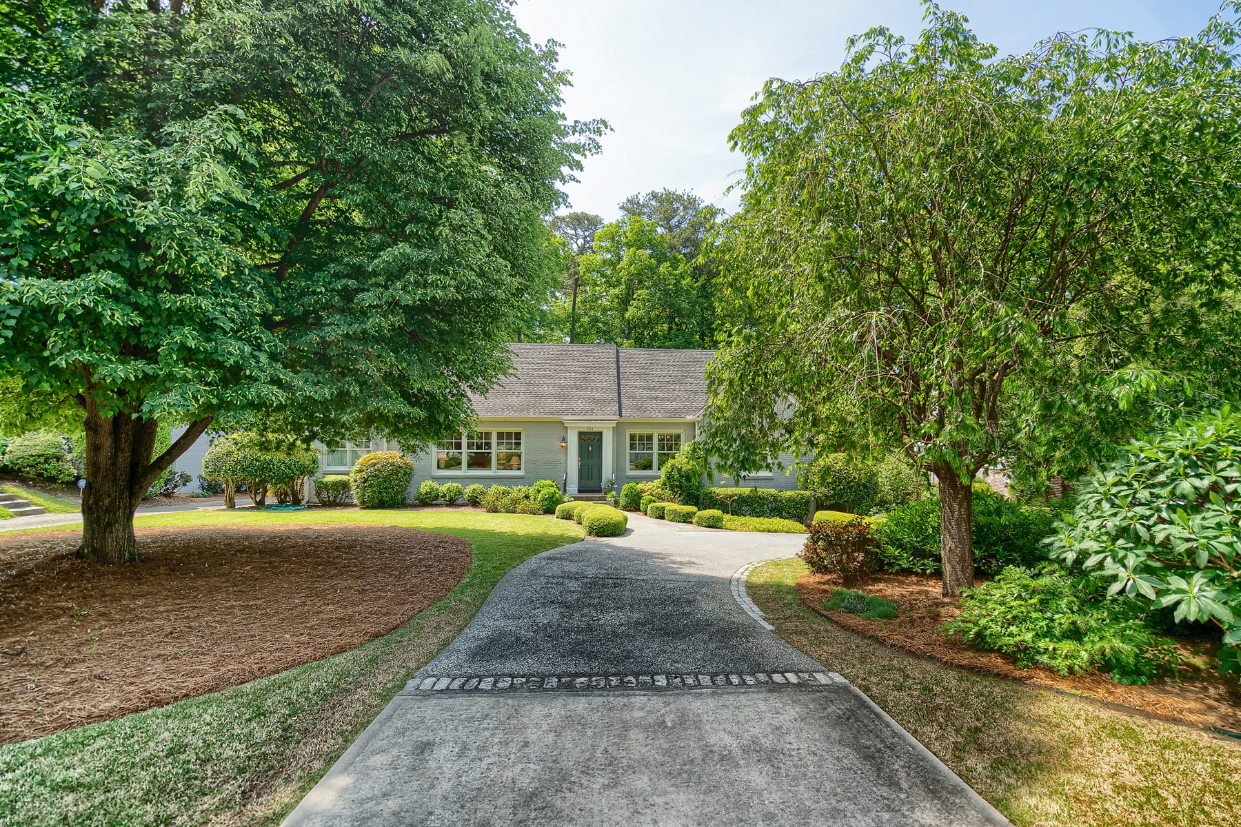 Single Family Home for Sale at A Touch Of France In Garden Hills 501 East Wesley Rd Atlanta, Georgia 30305 United States