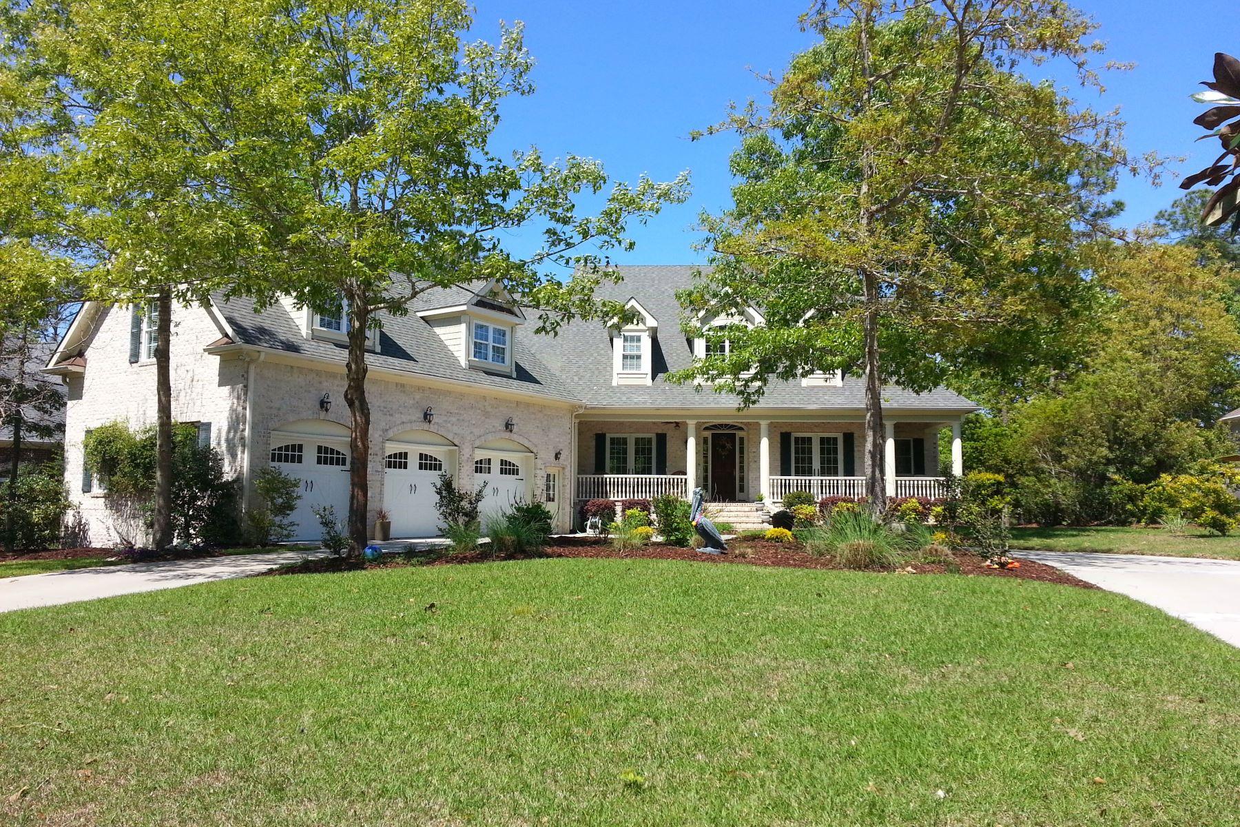 Casa Unifamiliar por un Venta en Magnificent Custom-Built Masterpiece 476 Deep Water Drive SE Southport, Carolina Del Norte 28461 Estados Unidos