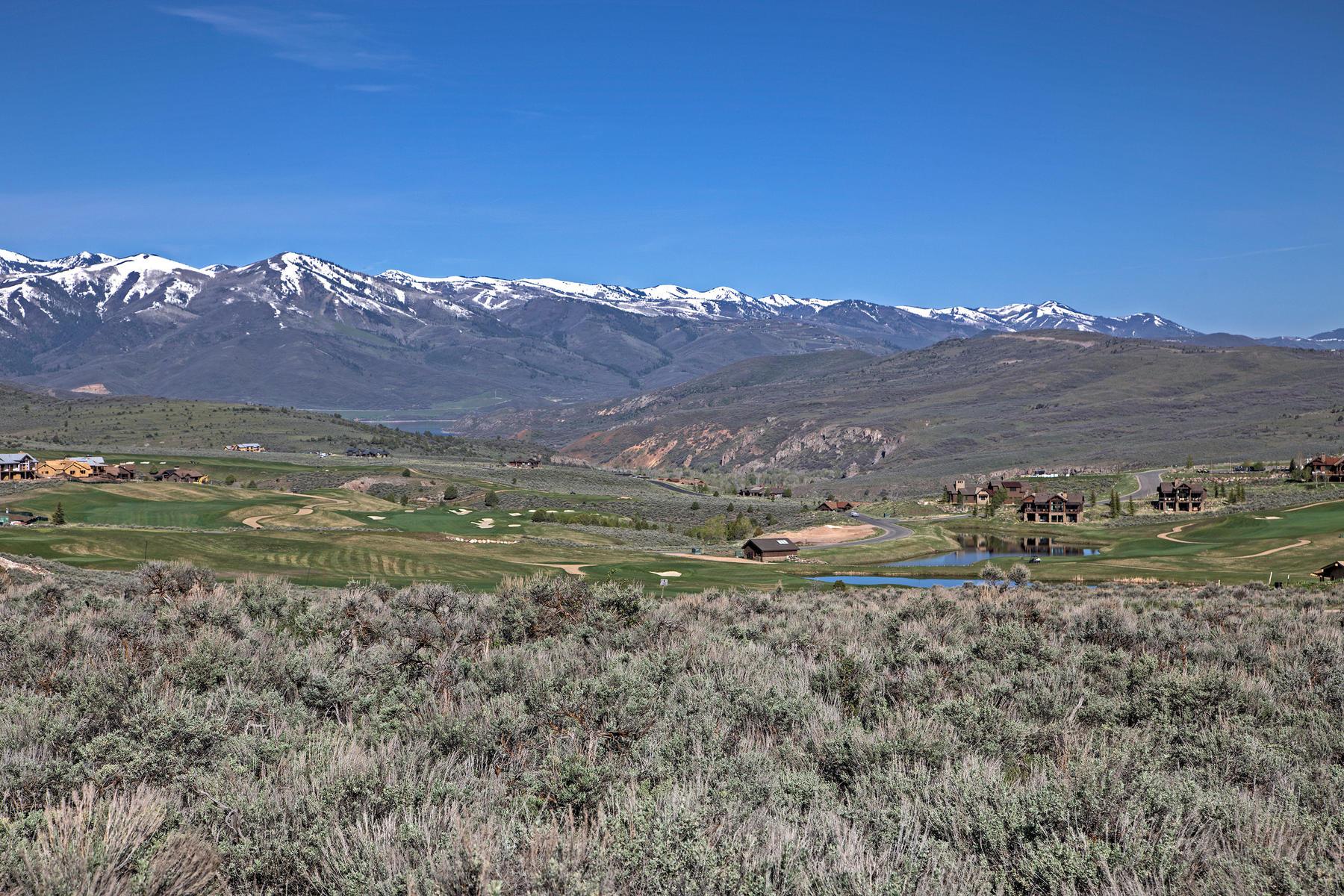 土地 为 销售 在 Coveted Jordanelle Water and Deer Valley Views 7205 E Evening Star Dr Lot 205 希伯城, 犹他州, 84032 美国