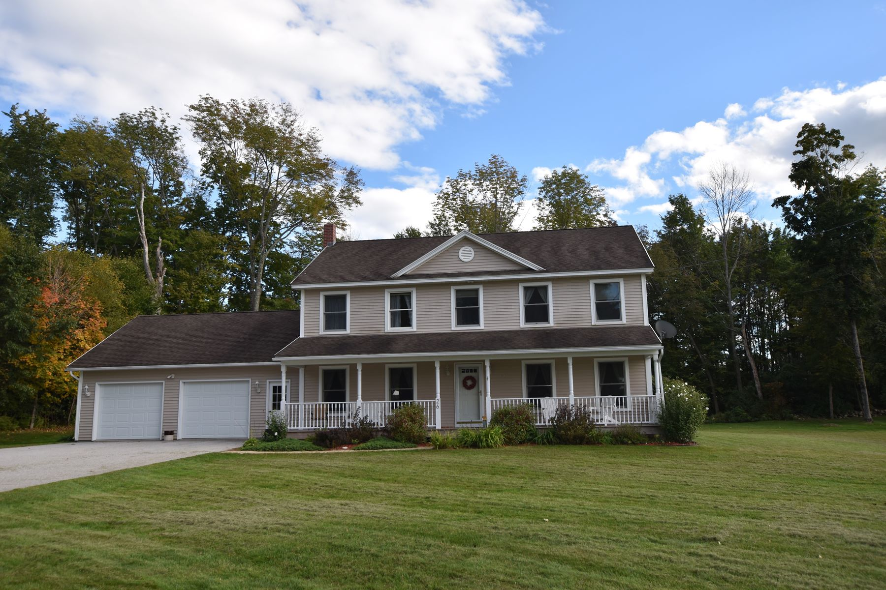 Single Family Home for Sale at Newer Colonial -Three Seasons Room-In Ground Pool 26 Marolin St Rutland, Vermont 05701 United States