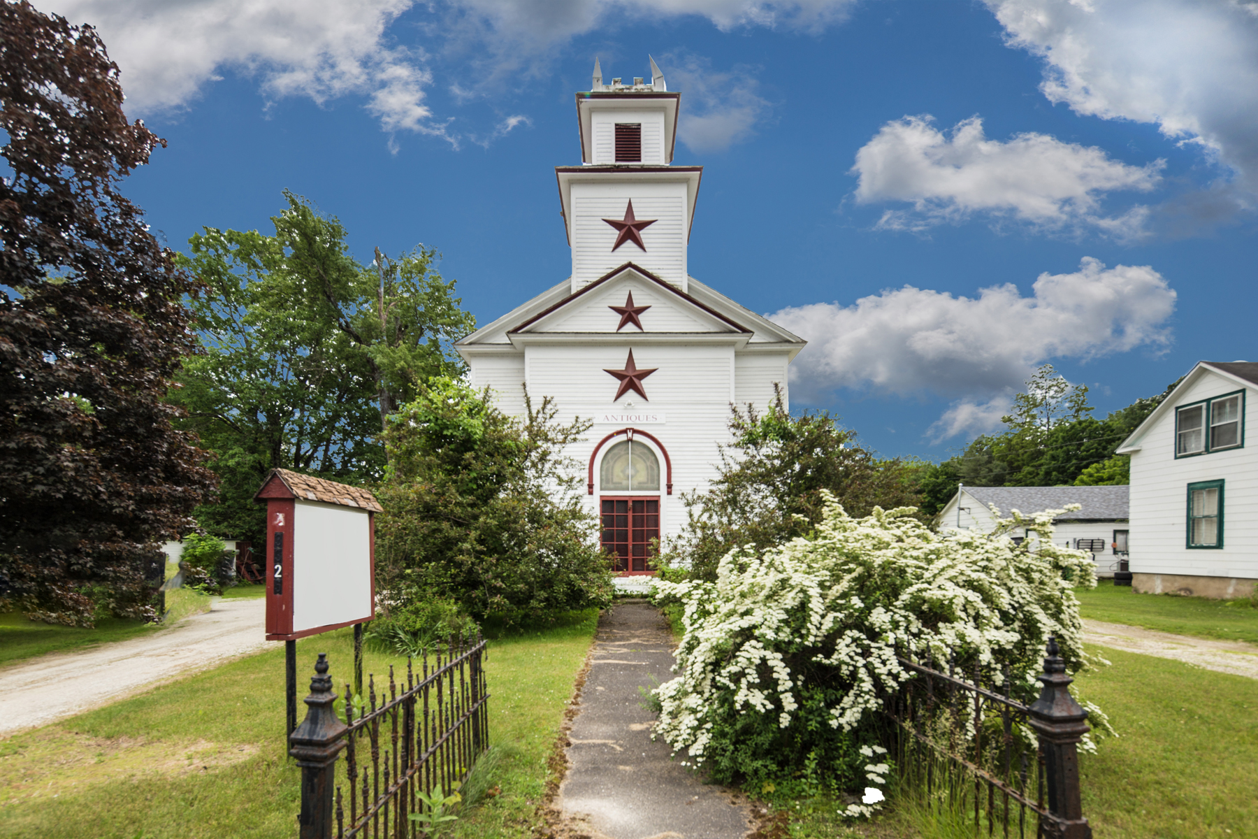 Single Family Homes for Sale at Renovated Church 3325 Route 7 Rd Pittsford, Vermont 05763 United States