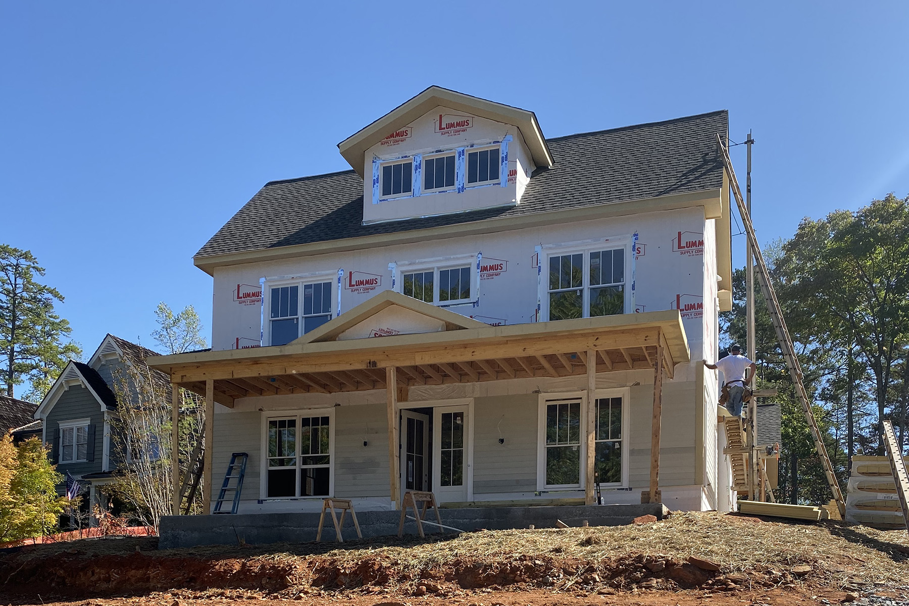 Single Family Homes for Sale at Stunning Craftsman-style new construction in Chestatee 24 Fieldstone Court, Dawsonville, Georgia 30534 United States