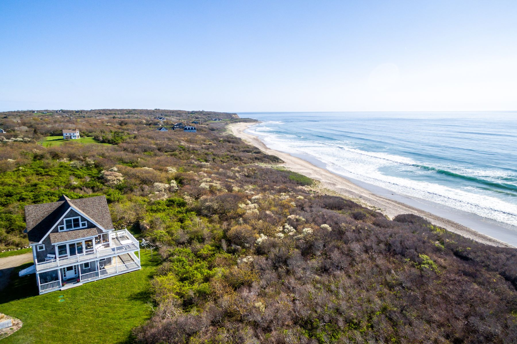 single family homes for Sale at Crescent Beach Cottage 1728 Corn Neck Road, Block Island, Rhode Island 02807 United States