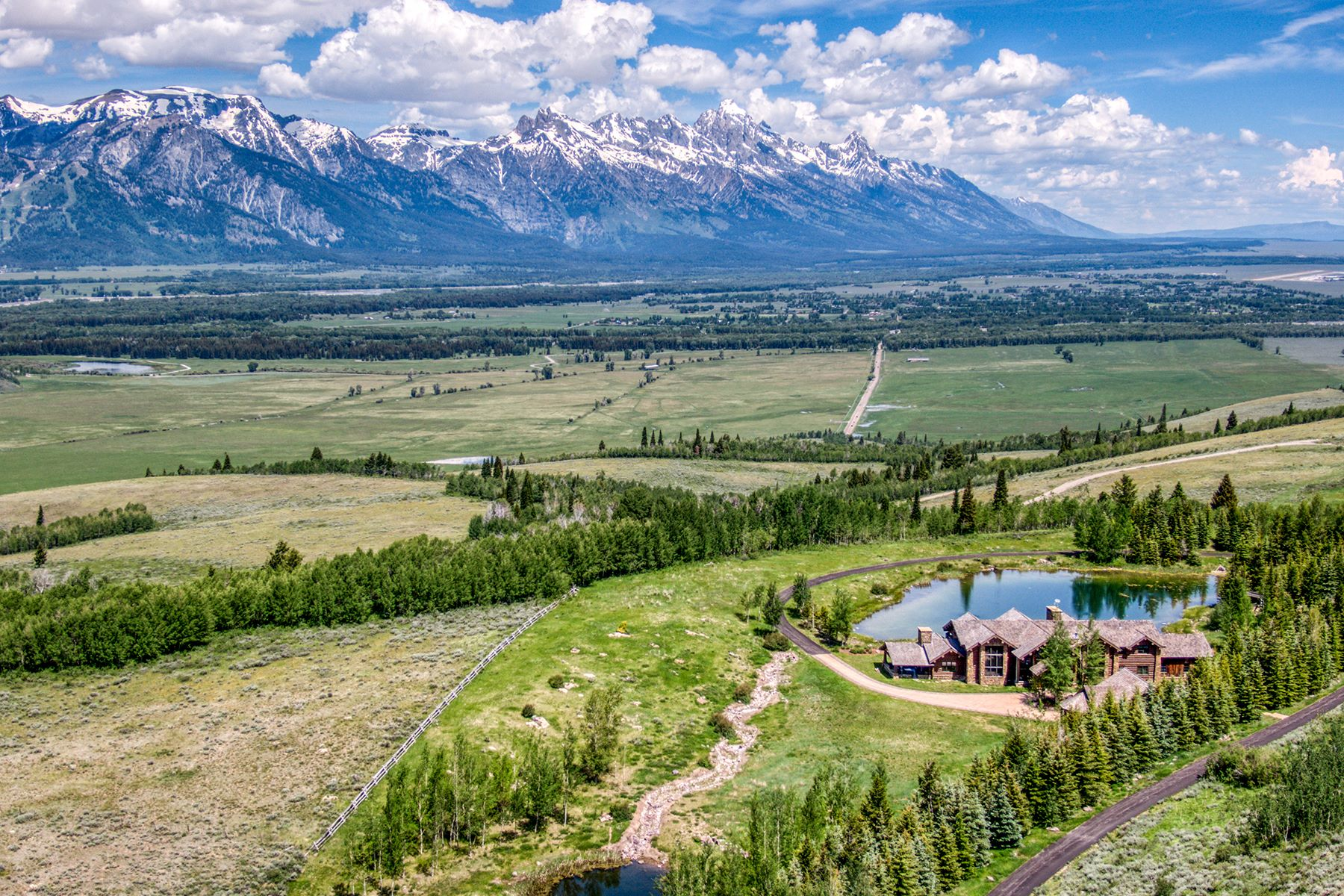 Single Family Homes for Sale at Riva Ridge Retreat, Residence of Western Grandeur 3000 Riva Ridge Road Jackson, Wyoming 83001 United States