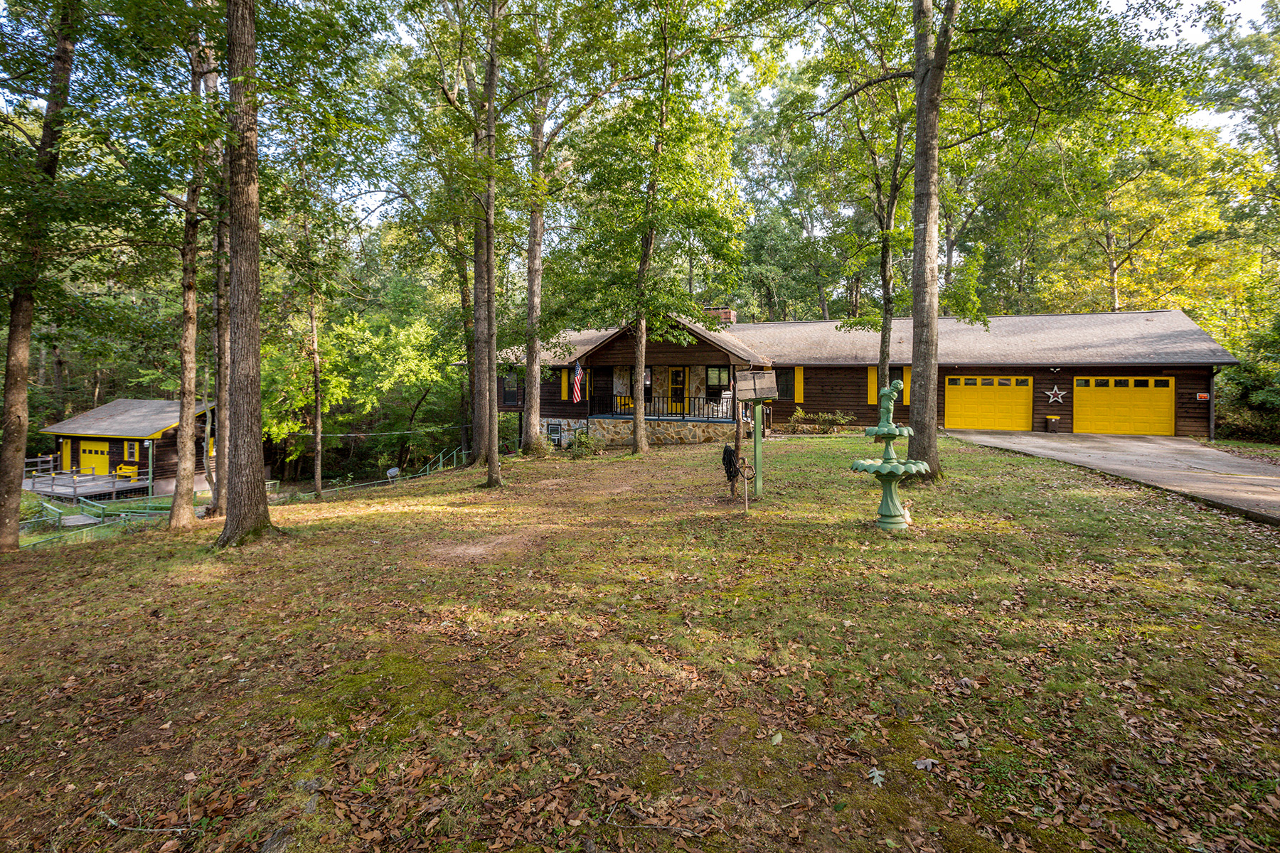 Single Family Home for Sale at Charmingly Private Oasis On Over 18 Private Acres! 1953 Keys Ferry Road McDonough, Georgia 30252 United States