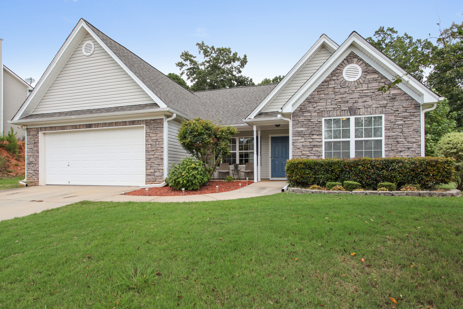 Single Family Home for Sale at Move In Ready Ranch In North Forsyth 9110 Woodland Tree Lane Cumming, Georgia 30028 United States