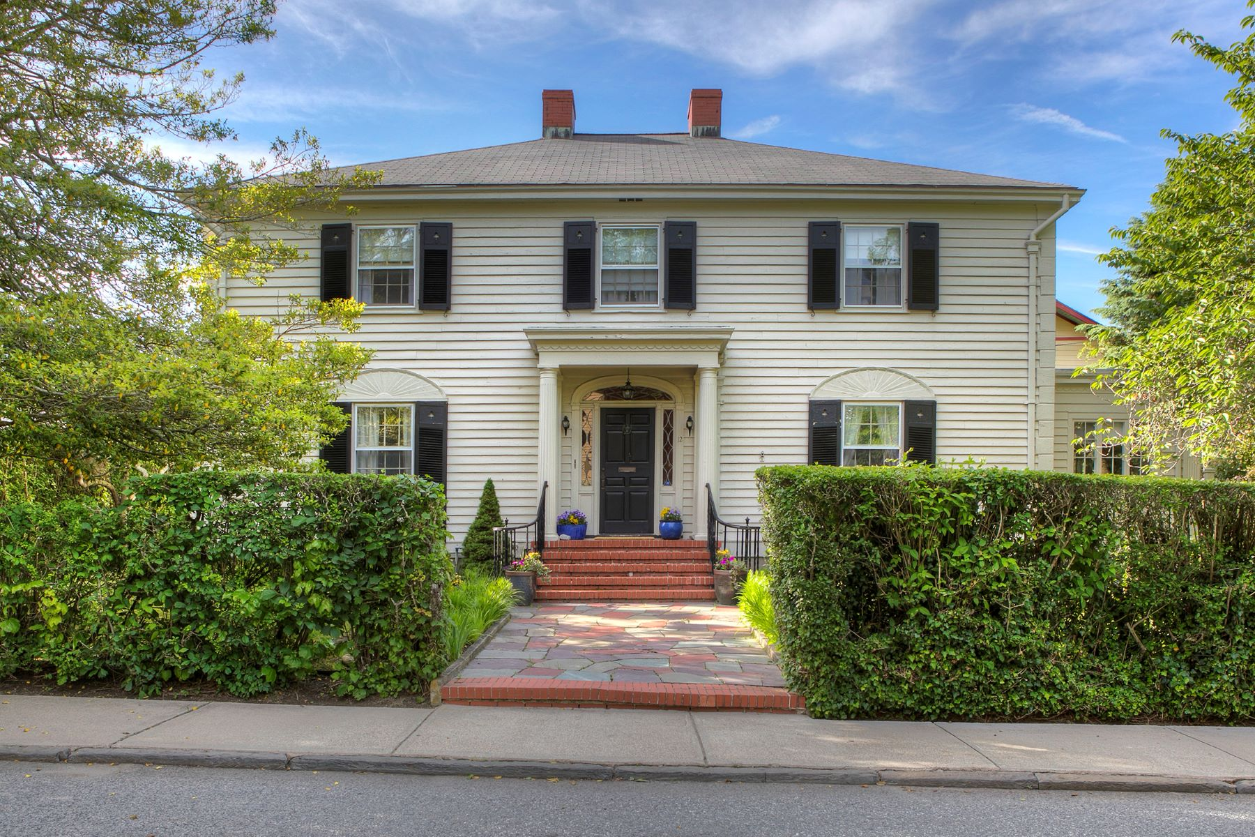 Single Family Homes for Sale at Top of Historic Hill 12 Redwood Street Newport, Rhode Island 02840 United States