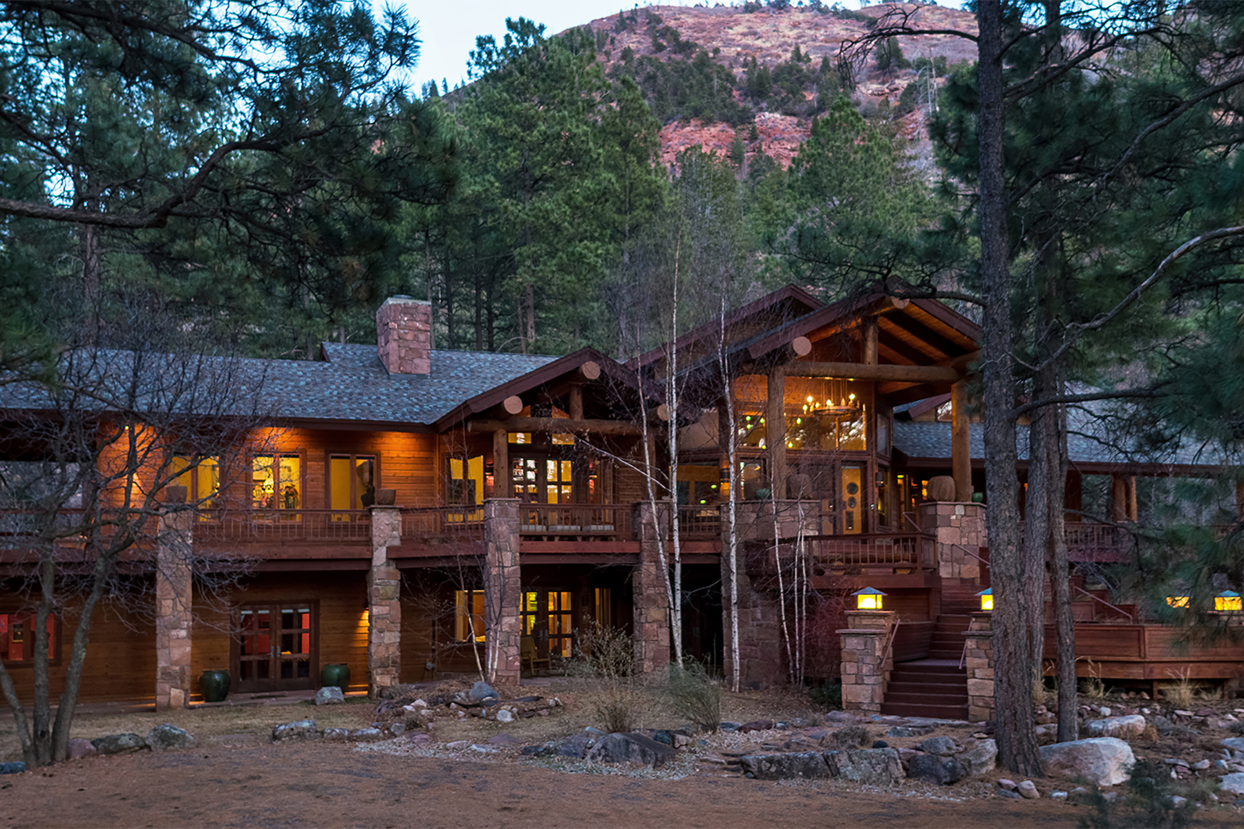 Single Family Home for Active at Skywater Ranch 6410 CR 250 Durango, Colorado 81301 United States