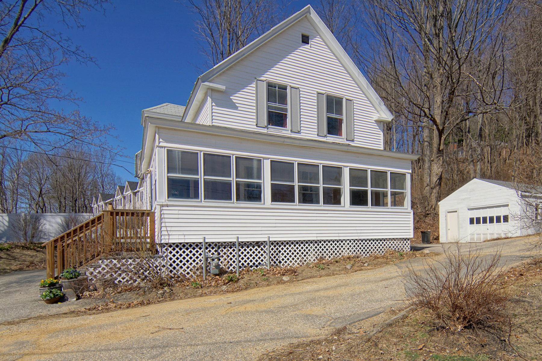 Single Family Home for Sale at Private New Englander Adjacent to Garrison Park Trails in Historic Dover, NH 12 Brick Road Dover, New Hampshire 03820 United States