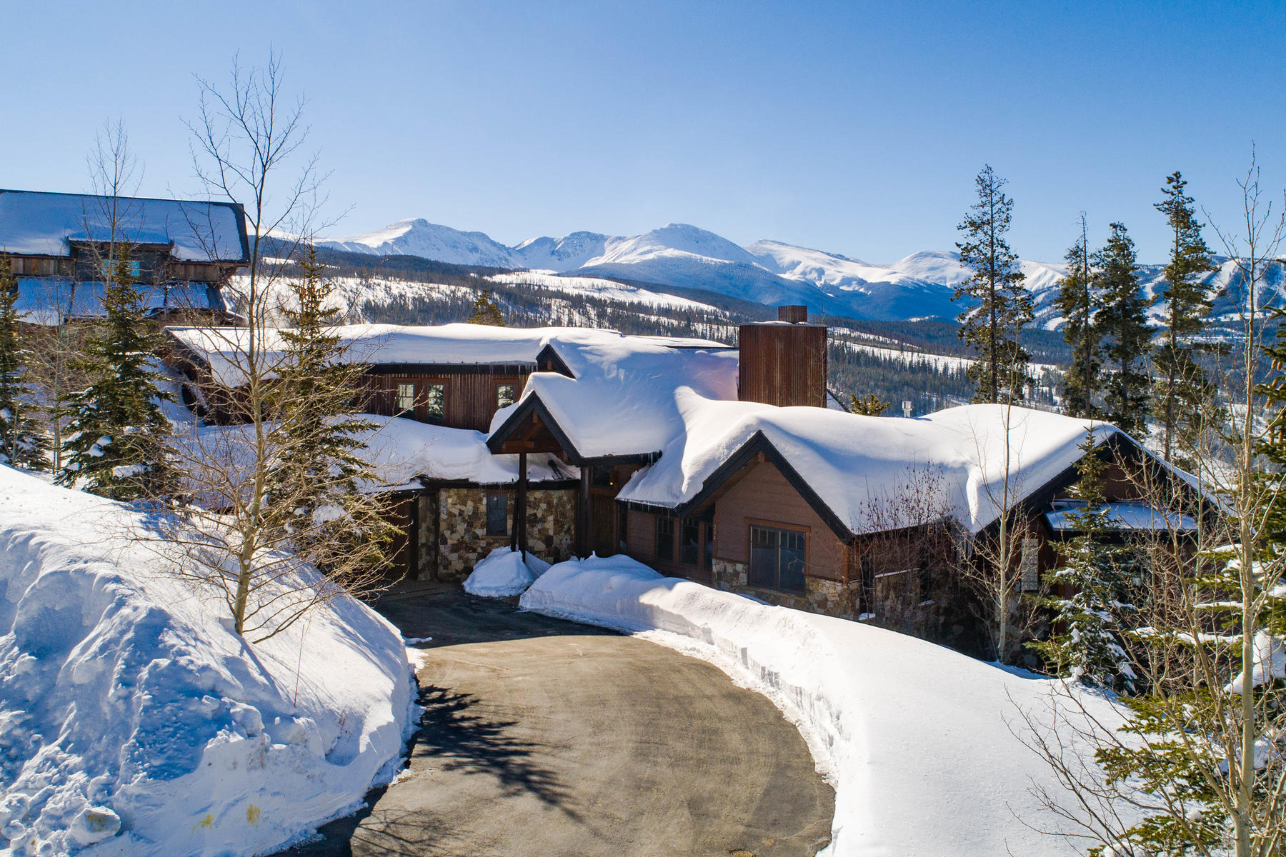 Single Family Homes for Active at Perched on the ridge, this luxurious furnished home captures breathtaking views 234 Cozens Rdg Fraser, Colorado 80442 United States