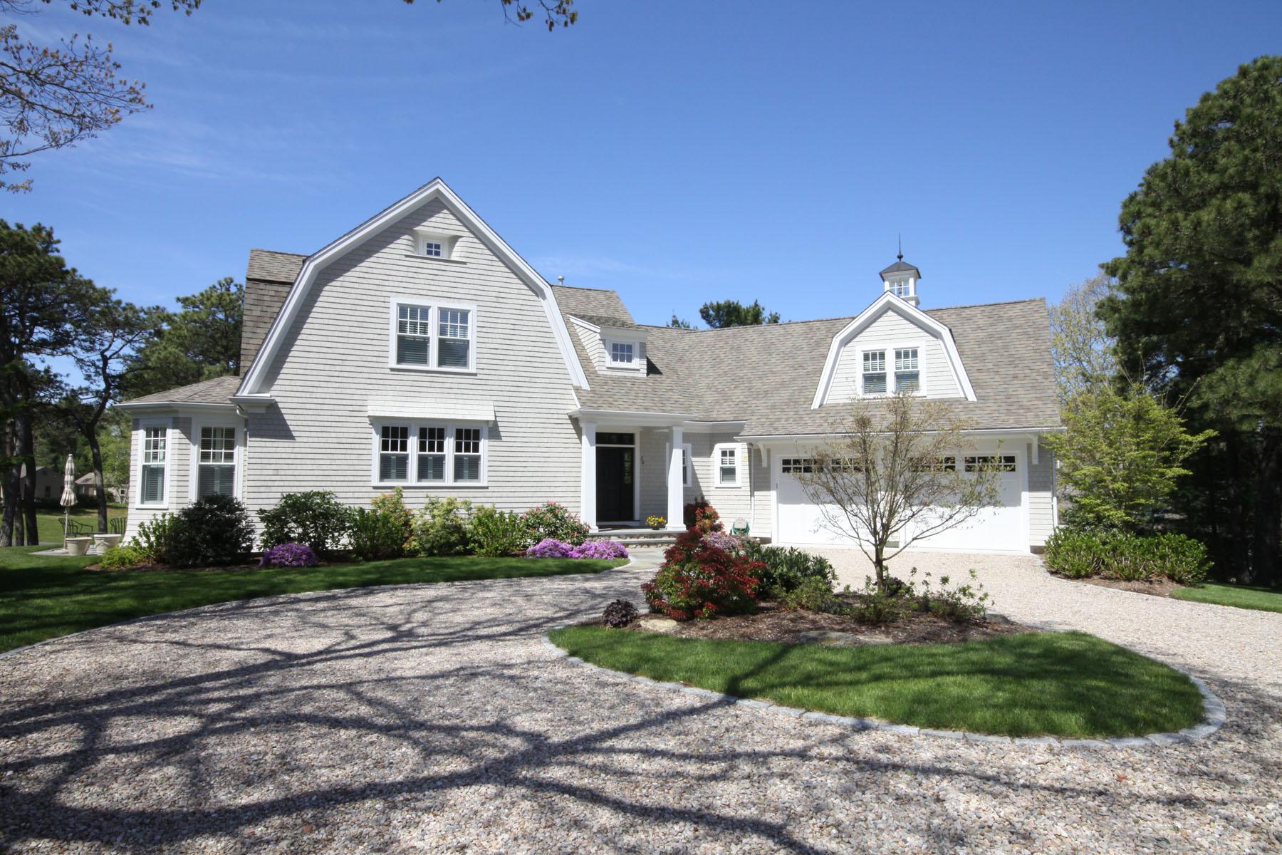 Частный односемейный дом для того Продажа на PRISTINE GOLF FRONT HOME WITH VIEWS & POOL 20 Fairway Knob New Seabury, Массачусетс, 02649 Соединенные Штаты