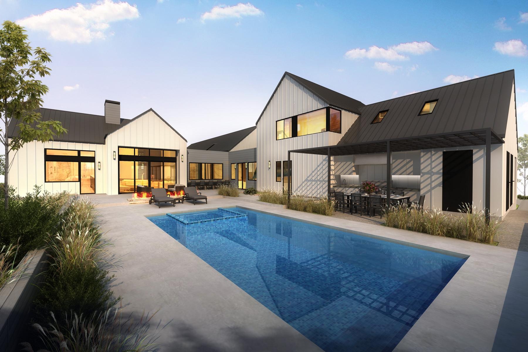 واحد منزل الأسرة للـ Sale في New Modern Farmhouse 280 Jespersen Ln San Luis Obispo, California, 93401 United States