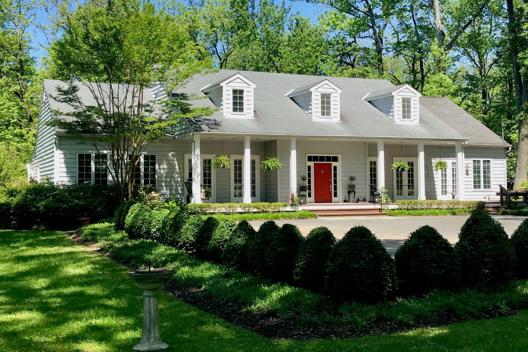 Single Family Homes por un Venta en Greenspring Valley 8 Chittenden Lane Owings Mills, Maryland 21117 Estados Unidos