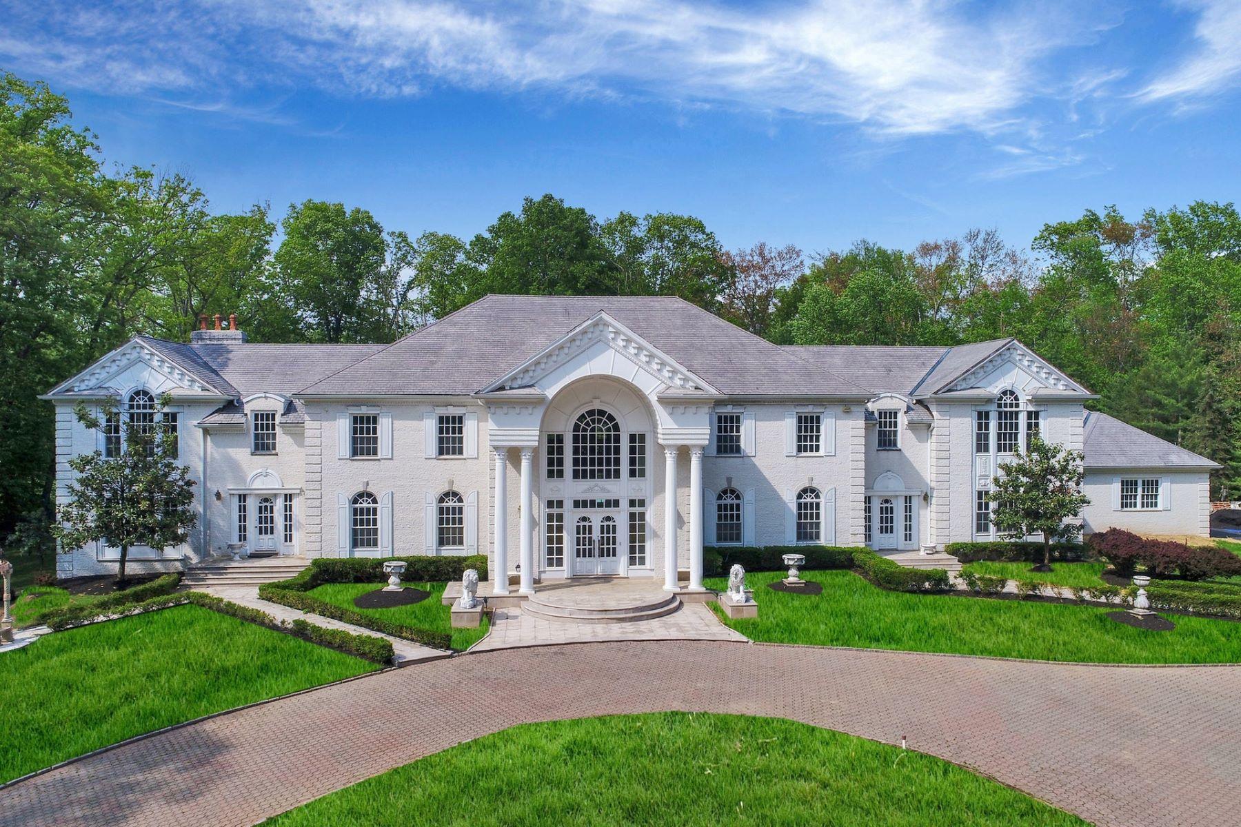 Частный односемейный дом для того Аренда на White House at Livingston 325 South Orange Avenue, Livingston, Нью-Джерси 07039 Соединенные Штаты