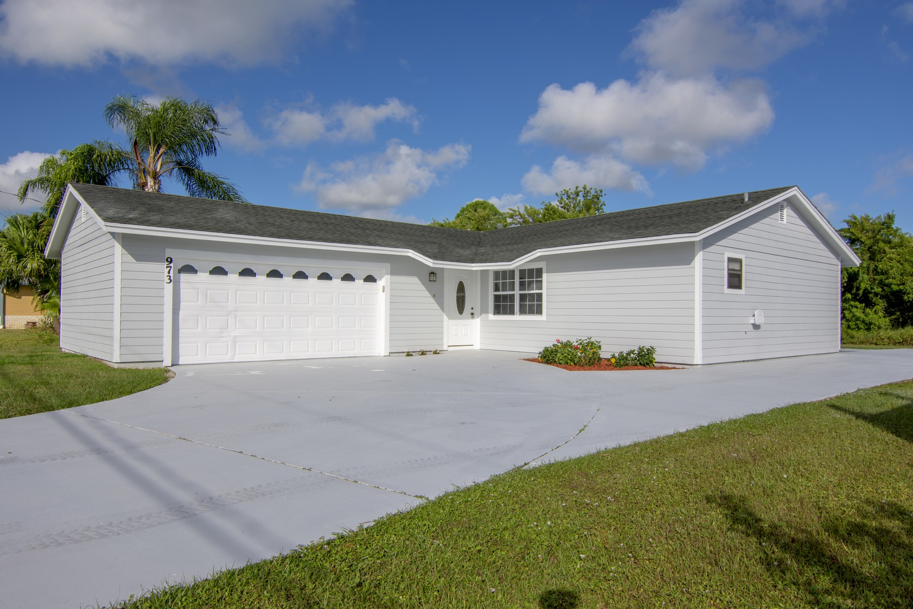 Single Family Home for Sale at Beautifully Renovated Three Bedroom Home 973 SW Jaslo Avenue Port St. Lucie, Florida 34953 United States