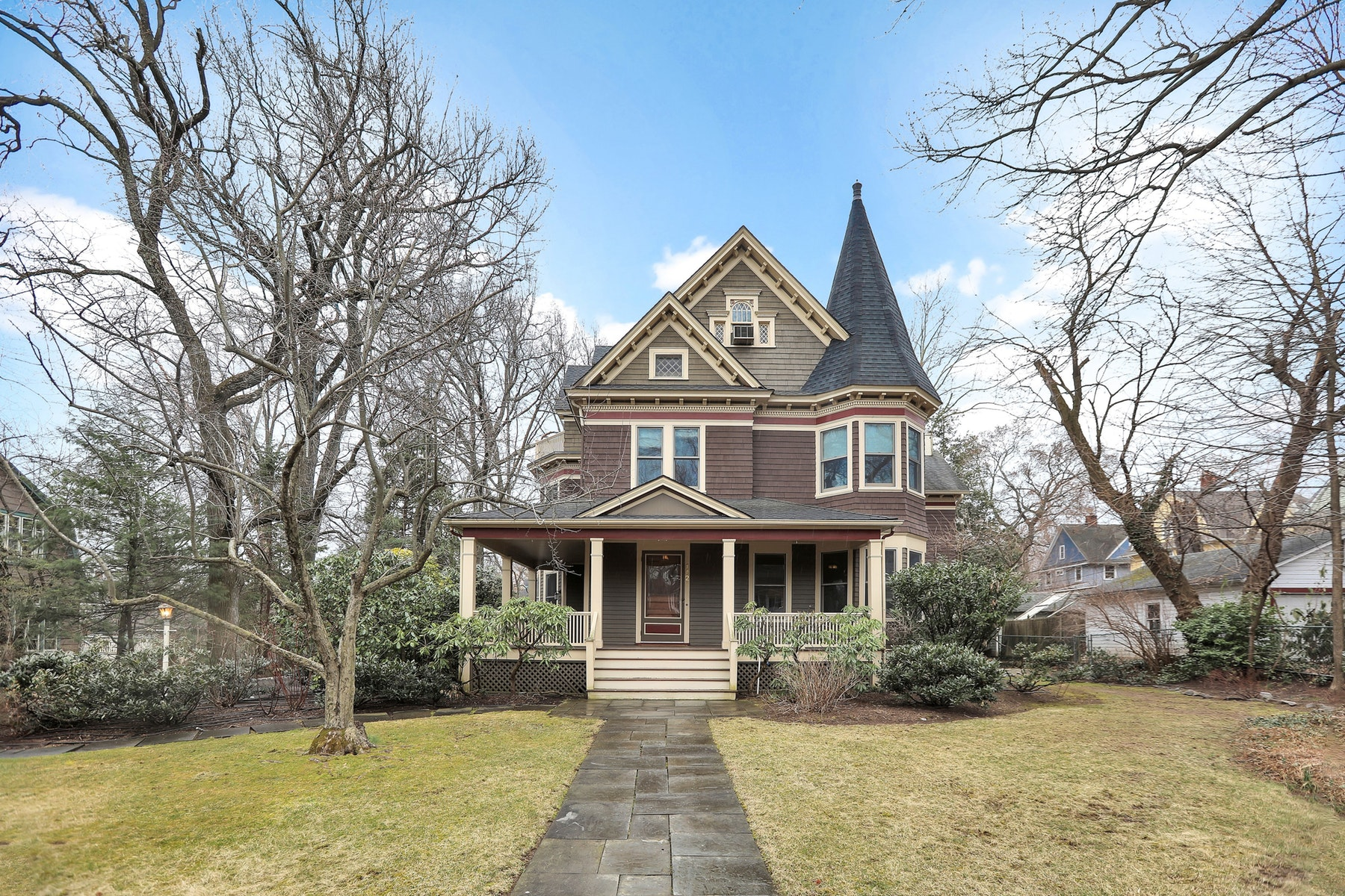 Single Family Home for Rent at Beautiful Mint Condition Victorian 142 Lorraine Avenue, Montclair, New Jersey 07043 United States