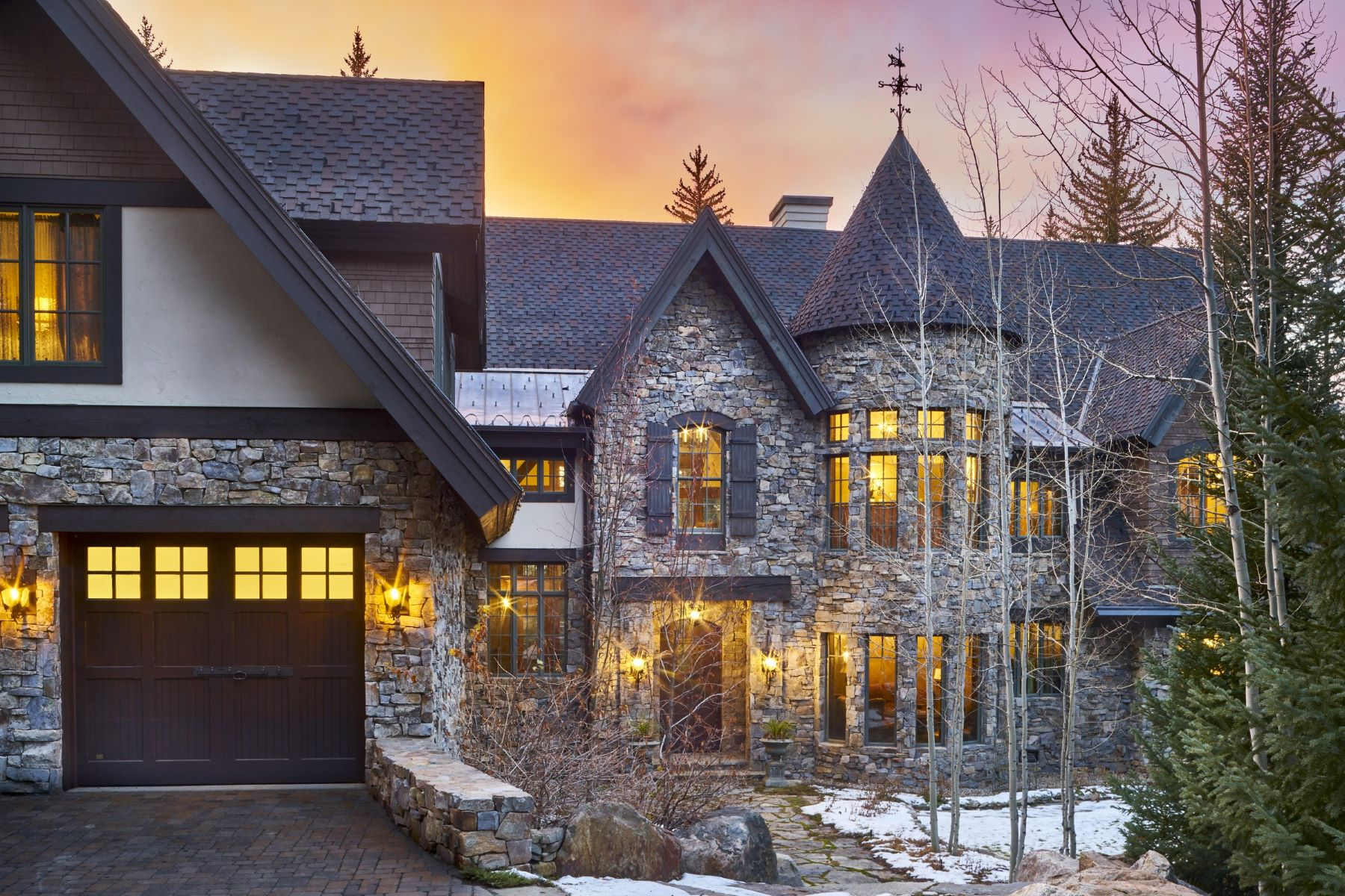 Single Family Home for Sale at Waterfront Castle in the Woods 1058 Graystone Court Steamboat Springs, Colorado 80487 United States
