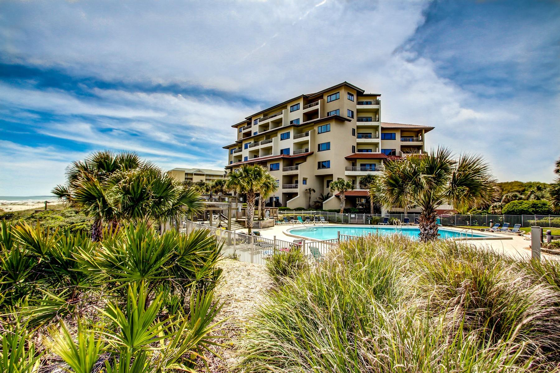 共管式独立产权公寓 为 销售 在 Oceanfront villa on the Amelia Island Plantation 200 Sandcastles Court, 阿梅利亚, 佛罗里达州, 32034 美国