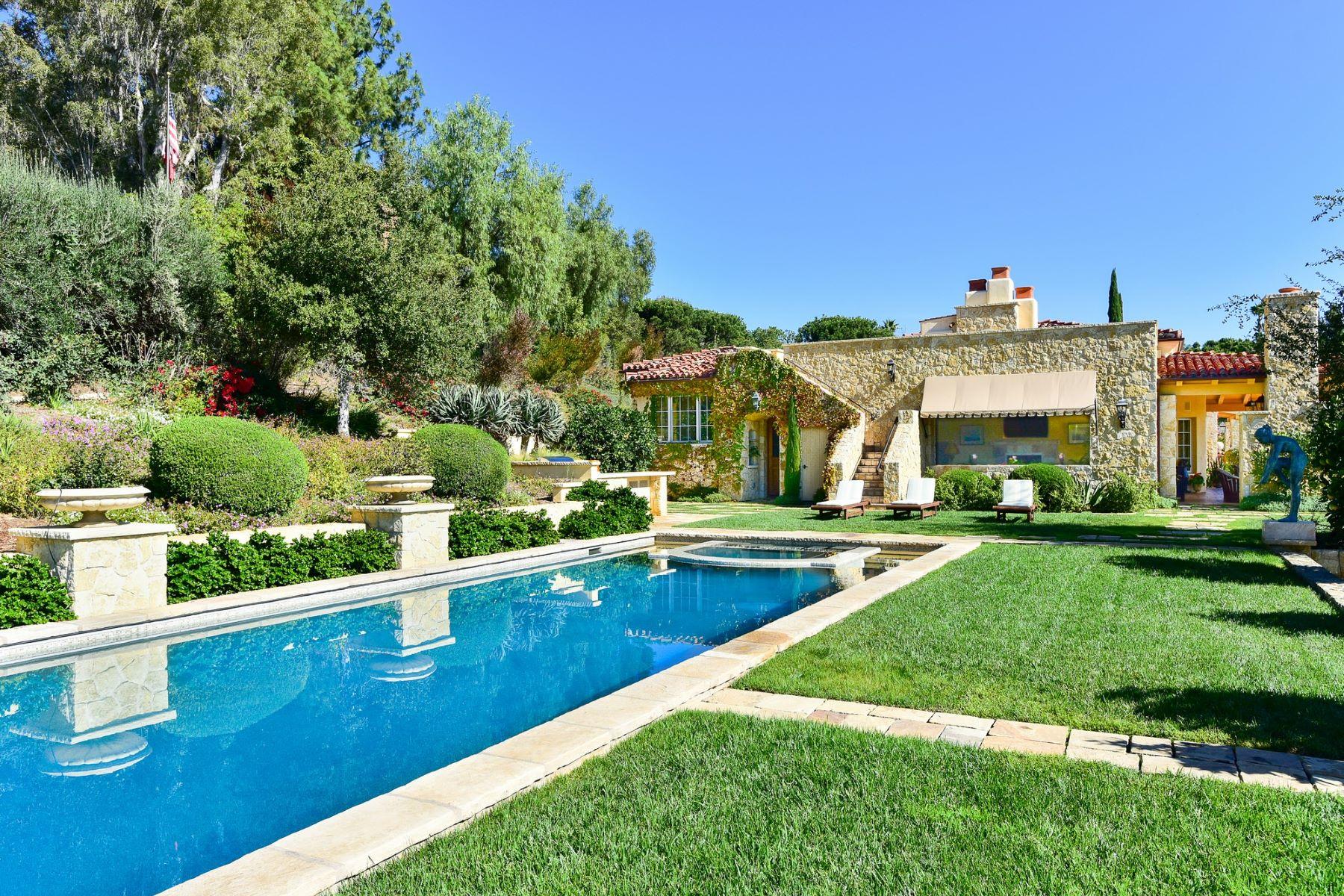 Single Family Home for Active at 6020 El Camino Del Norte 6020 El Camino Del Norte Rancho Santa Fe, California 92067 United States