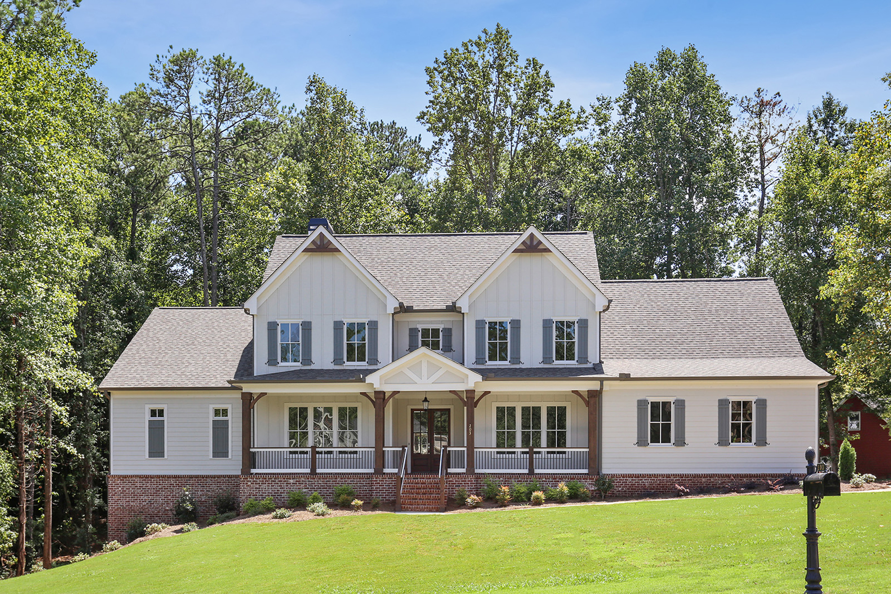 Single Family Homes for Sale at Owners on Main New Construction Woodstock Home 203 Rosewood Circle Woodstock, Georgia 30188 United States