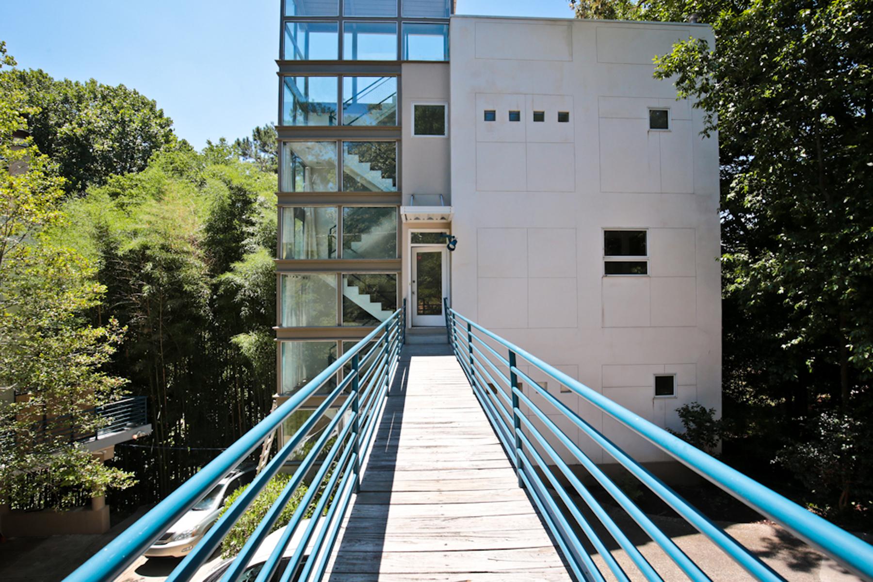 Villa per Vendita alle ore Ultra Sleek Contemporary In Buckhead/Peachtree Hills 335 Eureka Drive NE Peachtree Hills, Atlanta, Georgia, 30305 Stati Uniti