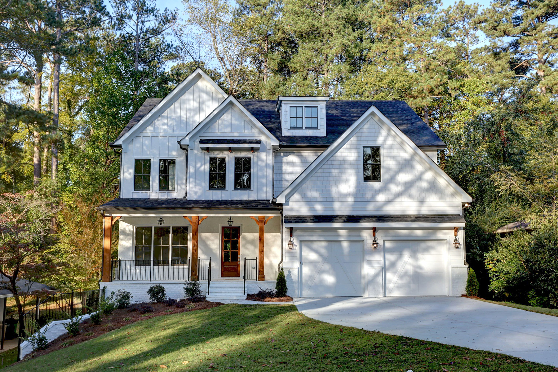 Single Family Home for Sale at Luxury New Construction In Brookhaven 2250 Fairway Circle NE Brookhaven, Georgia 30319 United States