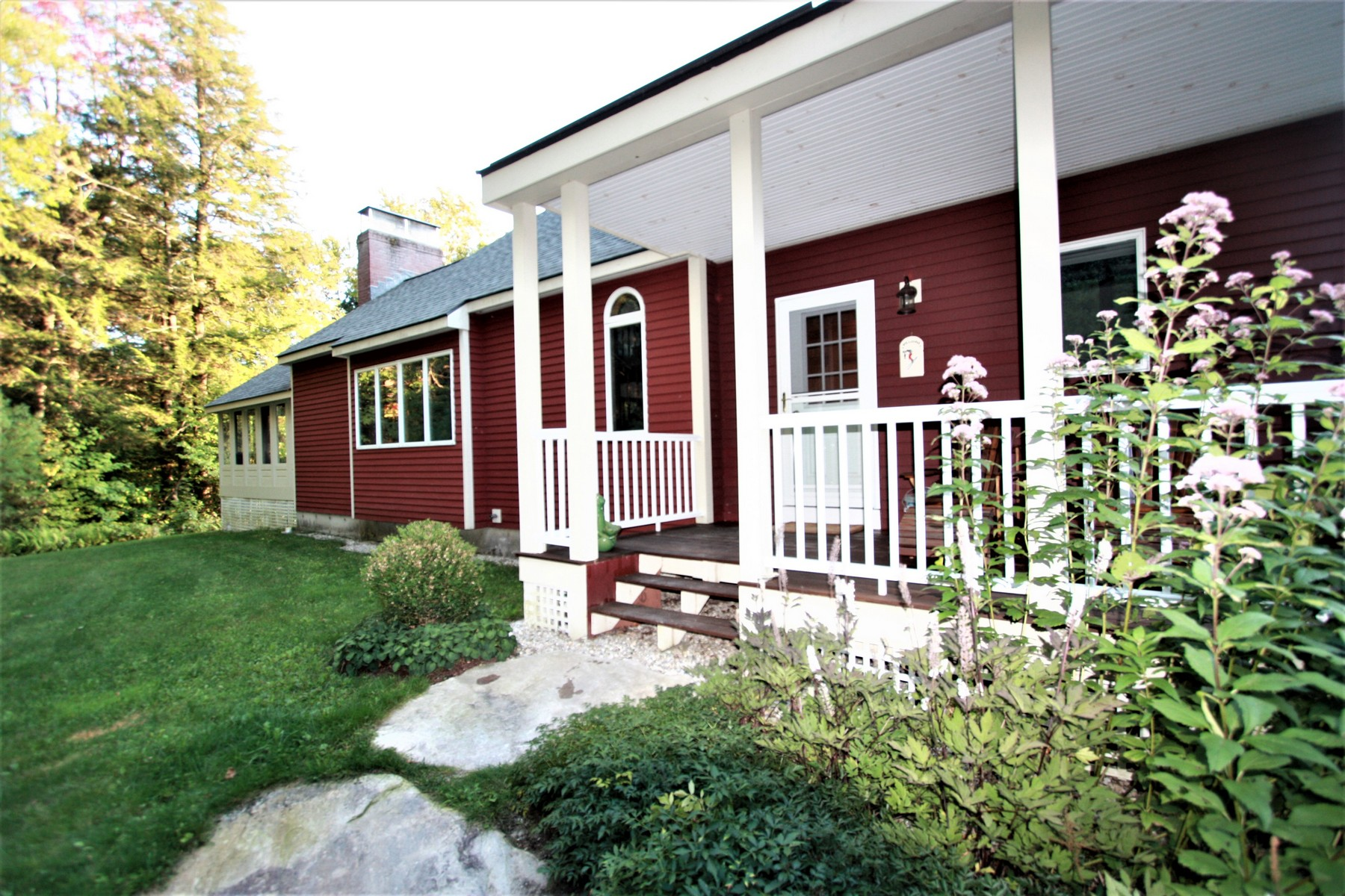 Single Family Homes for Sale at Lovely Four Season Private Retreat on Ten Acres 162 White Pine Dr Londonderry, Vermont 05155 United States