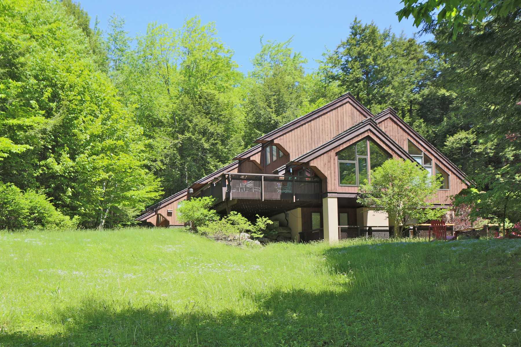 Single Family Homes for Sale at Fully Furnished - Rare and Pleasing Find! 363 Salt Ash Rd Plymouth, Vermont 05056 United States